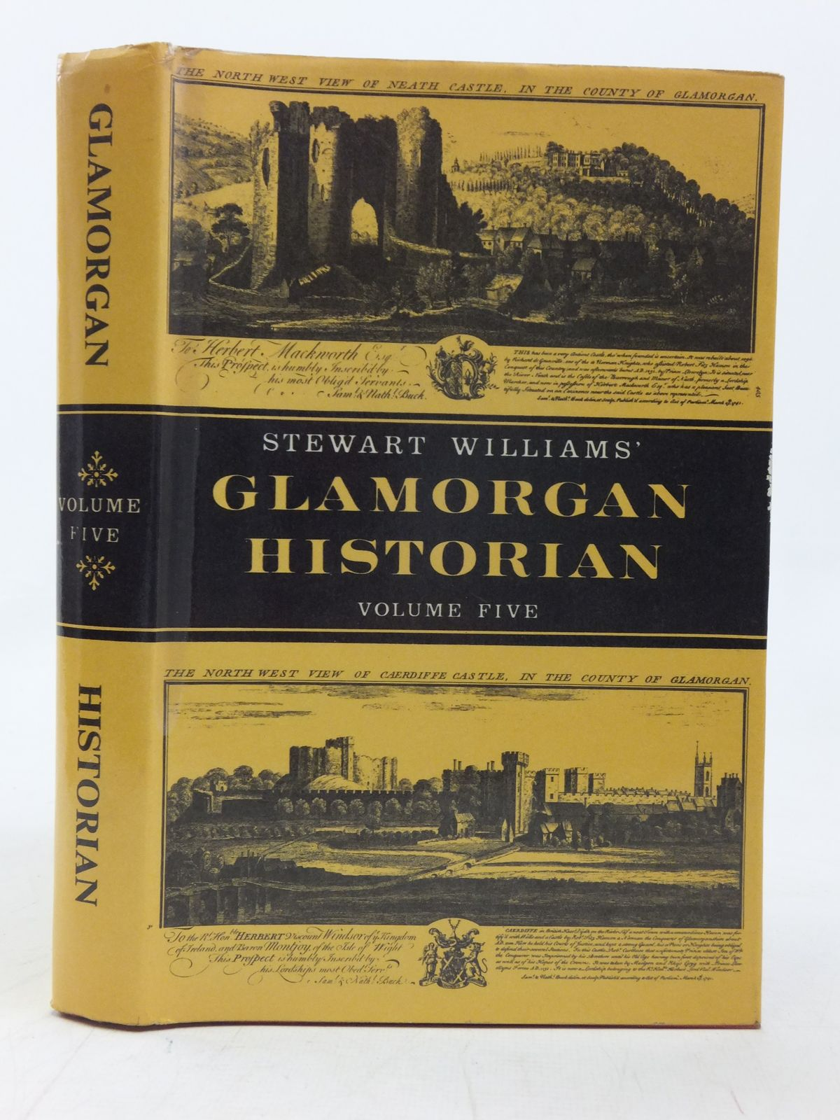 Photo of GLAMORGAN HISTORIAN VOLUME FIVE written by Williams, Stewart published by D. Brown & Sons Limited (STOCK CODE: 1606454)  for sale by Stella & Rose's Books