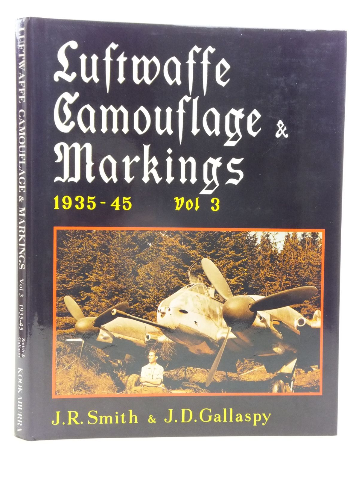 Photo of LUFTWAFFE CAMOUFLAGE & MARKINGS 1935-45 VOL 3 written by Smith, J.R.<br />Gallaspy, J.D. illustrated by Pentland, Geoffrey<br />Creek, E.J. published by Kookaburra Technical Publications (STOCK CODE: 1606555)  for sale by Stella & Rose's Books