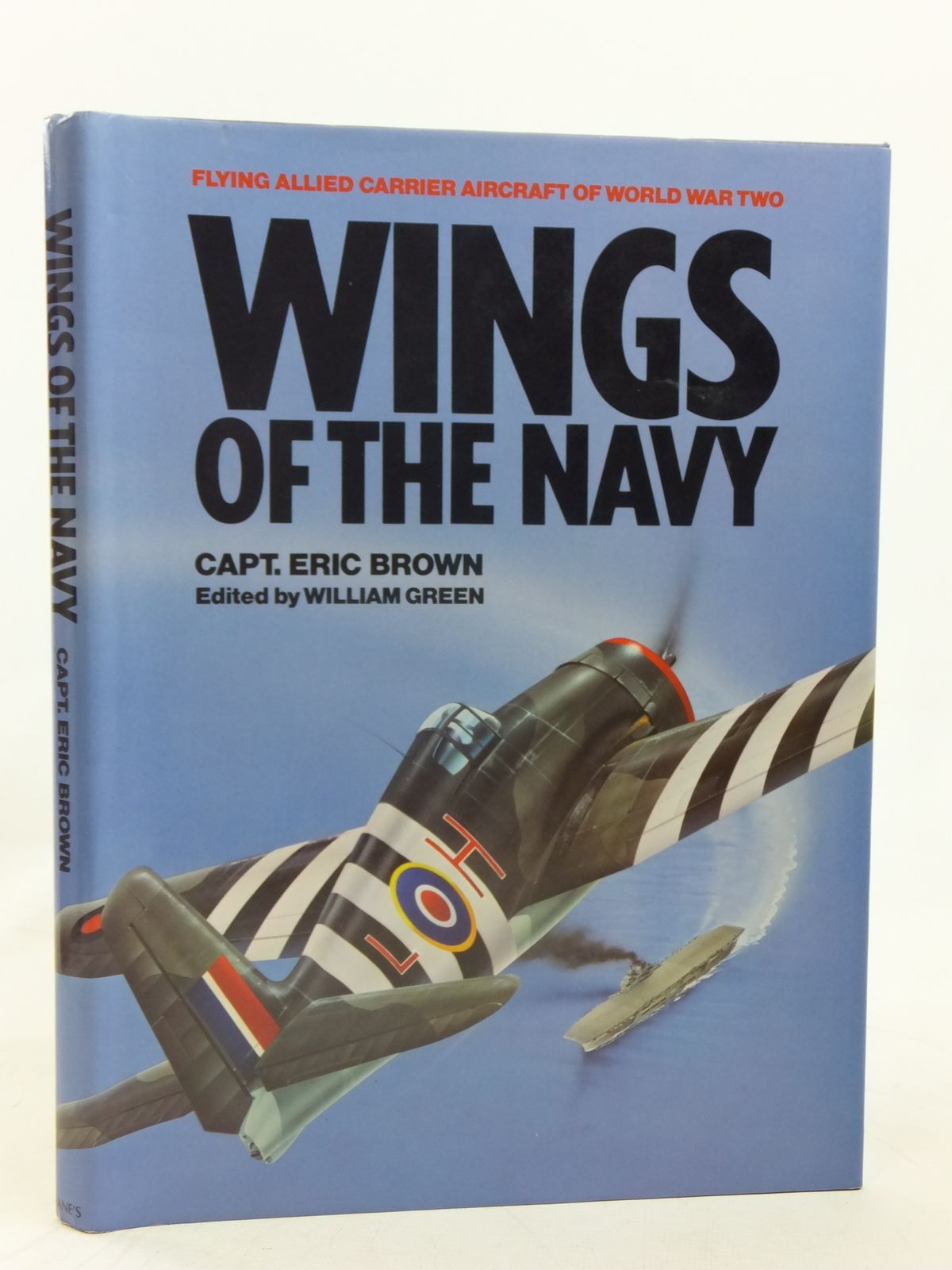 Photo of WINGS OF THE NAVY written by Brown, Eric M. published by Jane's Publishing Company (STOCK CODE: 1606613)  for sale by Stella & Rose's Books