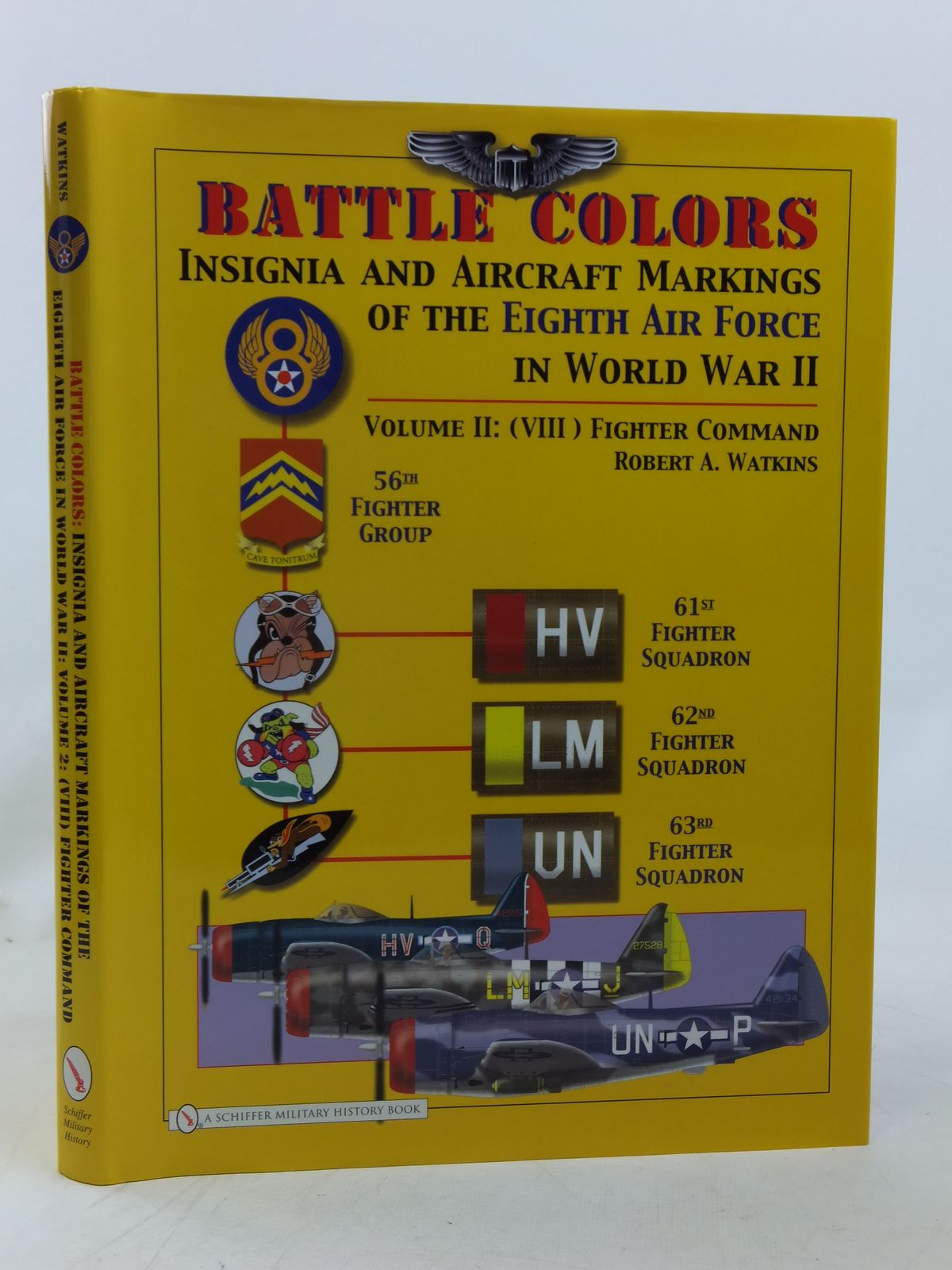 Photo of BATTLE COLORS VOLUME 2/ (VIII) FIGHTER COMMAND written by Watkins, Robert A. published by Schiffer Military History (STOCK CODE: 1606628)  for sale by Stella & Rose's Books