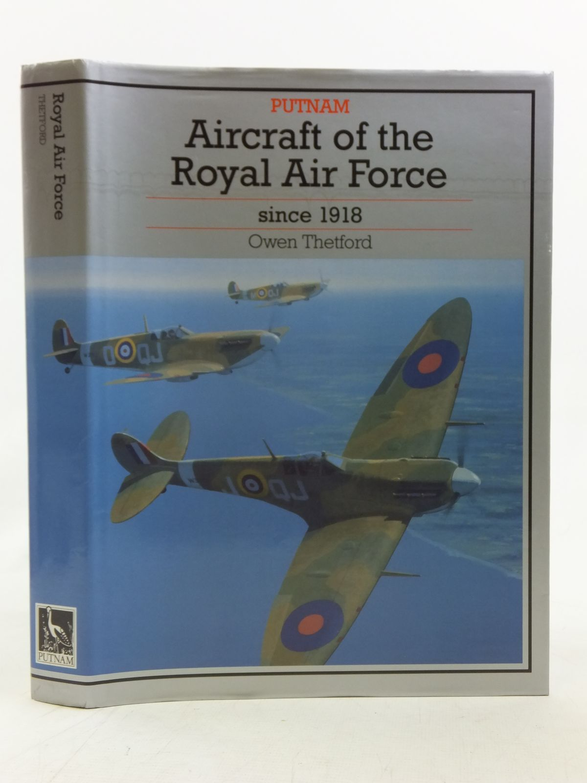 Photo of AIRCRAFT OF THE ROYAL AIR FORCE SINCE 1918 written by Thetford, Owen G. published by Putnam (STOCK CODE: 1606682)  for sale by Stella & Rose's Books