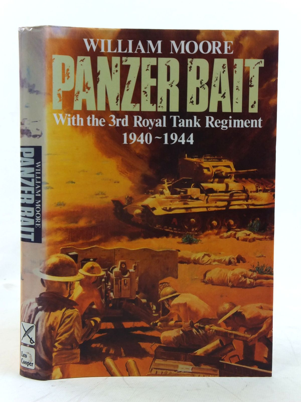 Photo of PANZER BAIT written by Moore, William published by Leo Cooper (STOCK CODE: 1606697)  for sale by Stella & Rose's Books