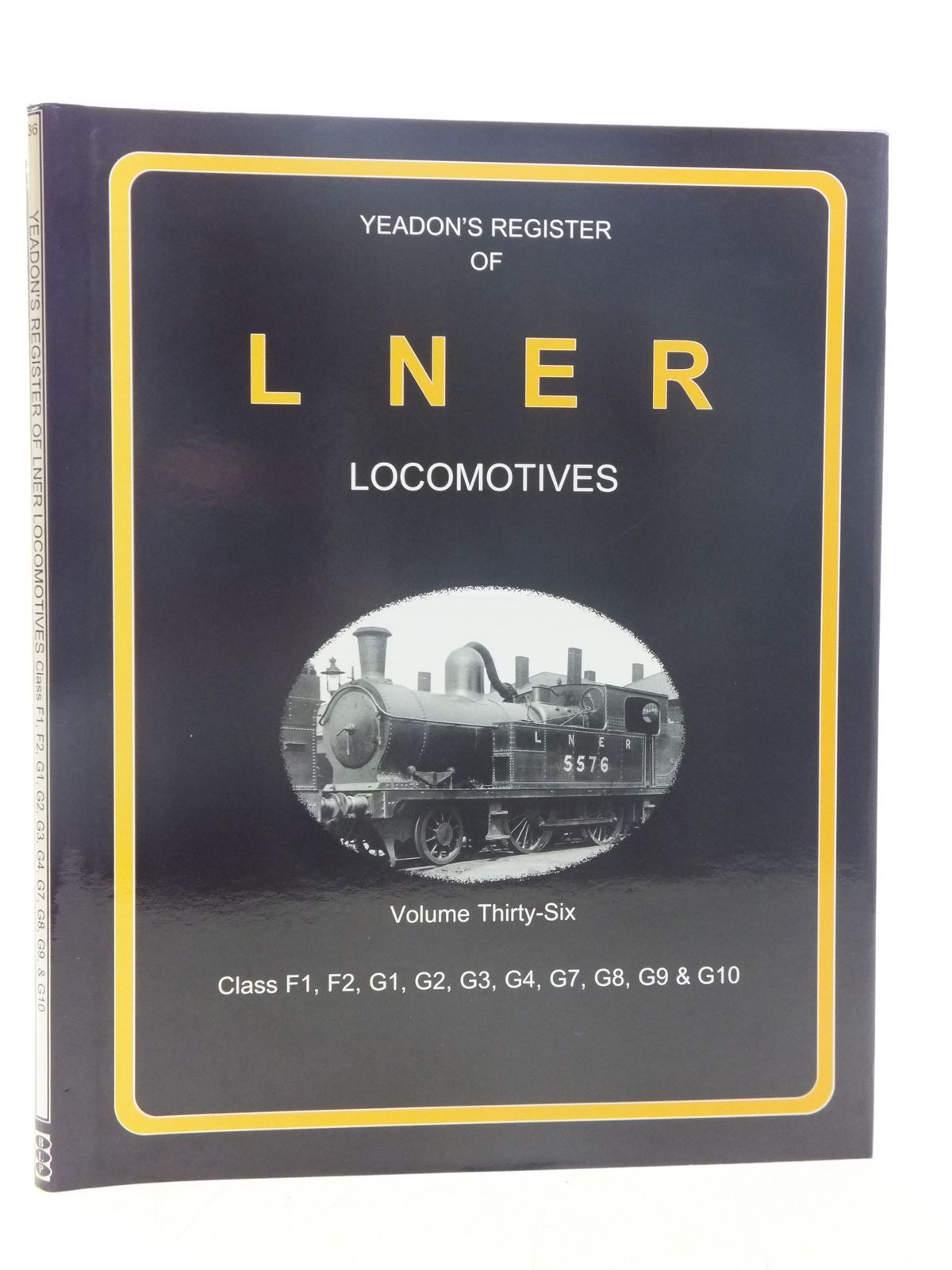 Photo of YEADON'S REGISTER OF LNER LOCOMOTIVES VOLUME THIRTY-SIX published by Challenger Publications, Book Law Publications (STOCK CODE: 1606910)  for sale by Stella & Rose's Books