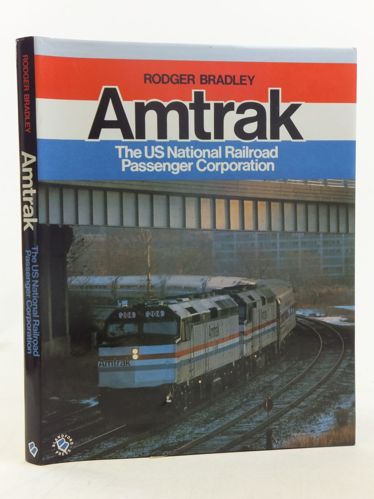 Photo of AMTRAK written by Bradley, Rodger published by Blandford Press (STOCK CODE: 1607010)  for sale by Stella & Rose's Books