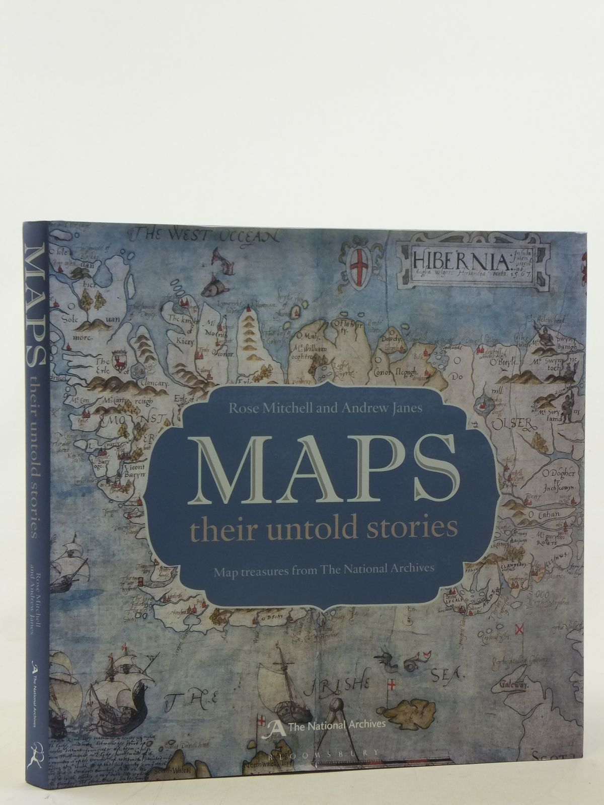 Photo of MAPS THEIR UNTOLD STORIES written by Mitchell, Rose<br />Janes, Andrew published by Bloomsbury, The National Archives (STOCK CODE: 1607051)  for sale by Stella & Rose's Books
