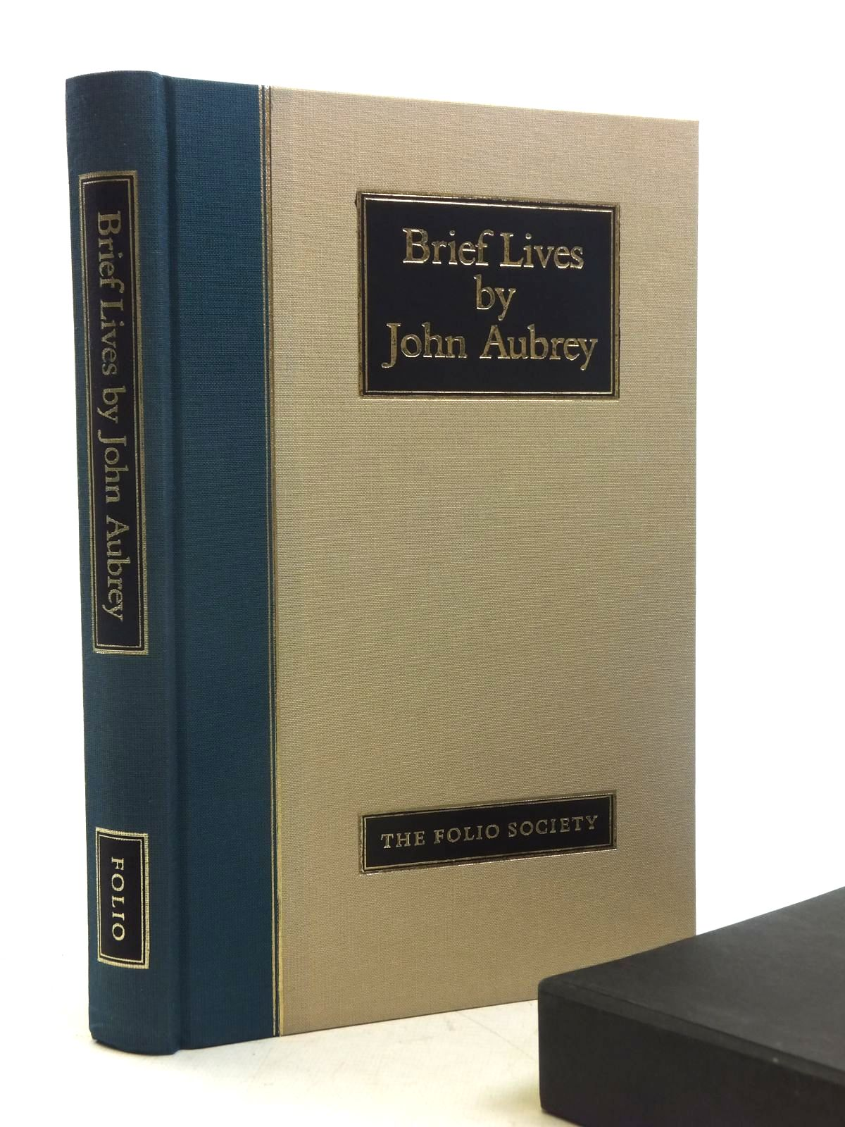 Photo of BRIEF LIVES written by Aubrey, John<br />Barber, Richard published by Folio Society (STOCK CODE: 1607057)  for sale by Stella & Rose's Books