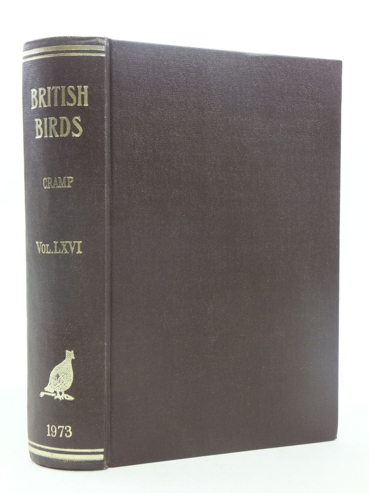 Photo of BRITISH BIRDS VOL. LXVI written by Cramp, Stanley published by MacMillan (STOCK CODE: 1607119)  for sale by Stella & Rose's Books