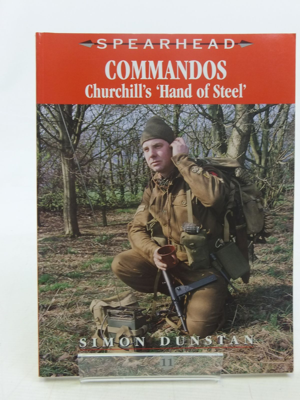 Photo of COMMANDOS CHURCHILL'S 'HAND OF STEEL' written by Dunstan, Simon published by Ian Allan (STOCK CODE: 1607140)  for sale by Stella & Rose's Books