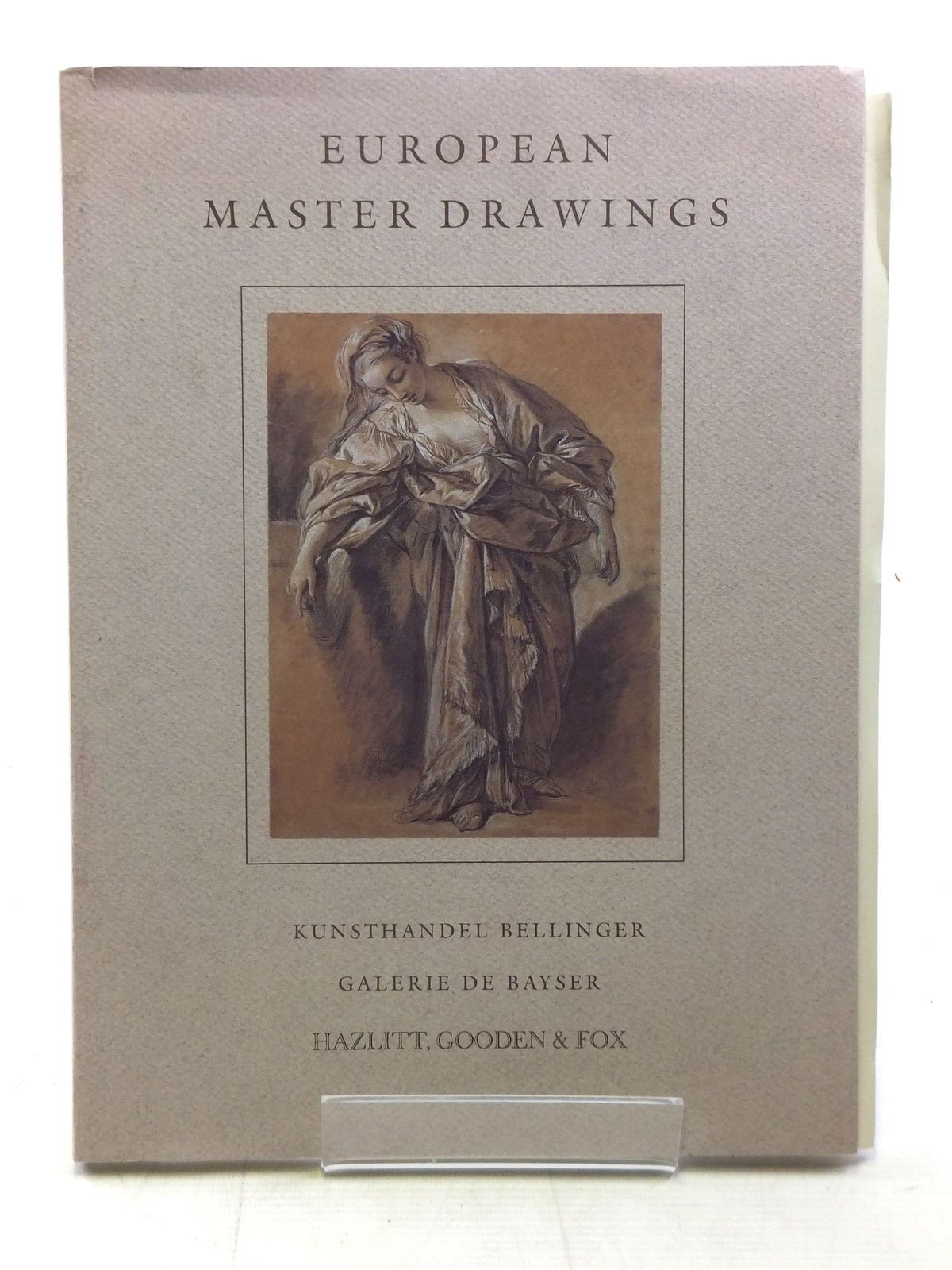 Photo of EUROPEAN MASTER DRAWINGS published by Hazlitt, Gooden & Fox (STOCK CODE: 1607154)  for sale by Stella & Rose's Books
