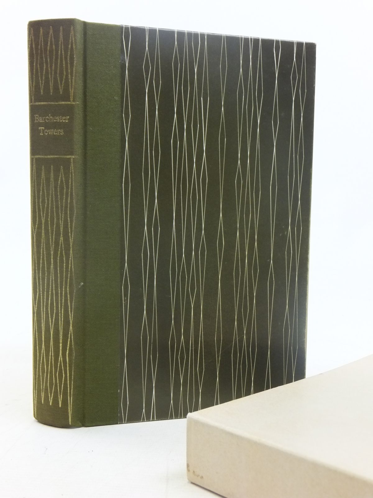 Photo of BARCHESTER TOWERS written by Trollope, Anthony<br />Symons, Julian illustrated by Reddick, Peter published by Folio Society (STOCK CODE: 1607183)  for sale by Stella & Rose's Books