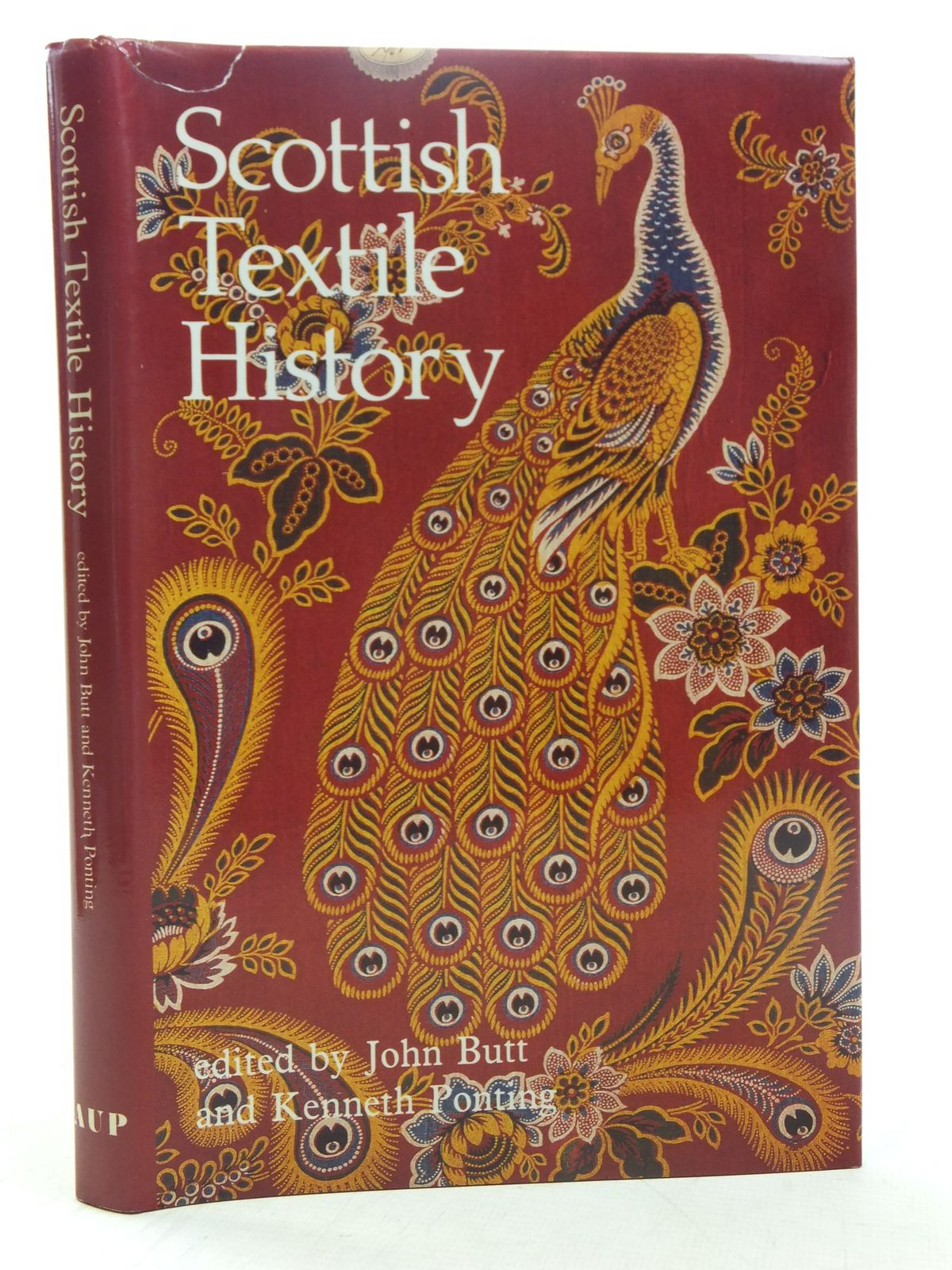 Photo of SCOTTISH TEXTILE HISTORY written by Butt, John<br />Ponting, Kenneth published by Aberdeen University Press (STOCK CODE: 1607230)  for sale by Stella & Rose's Books