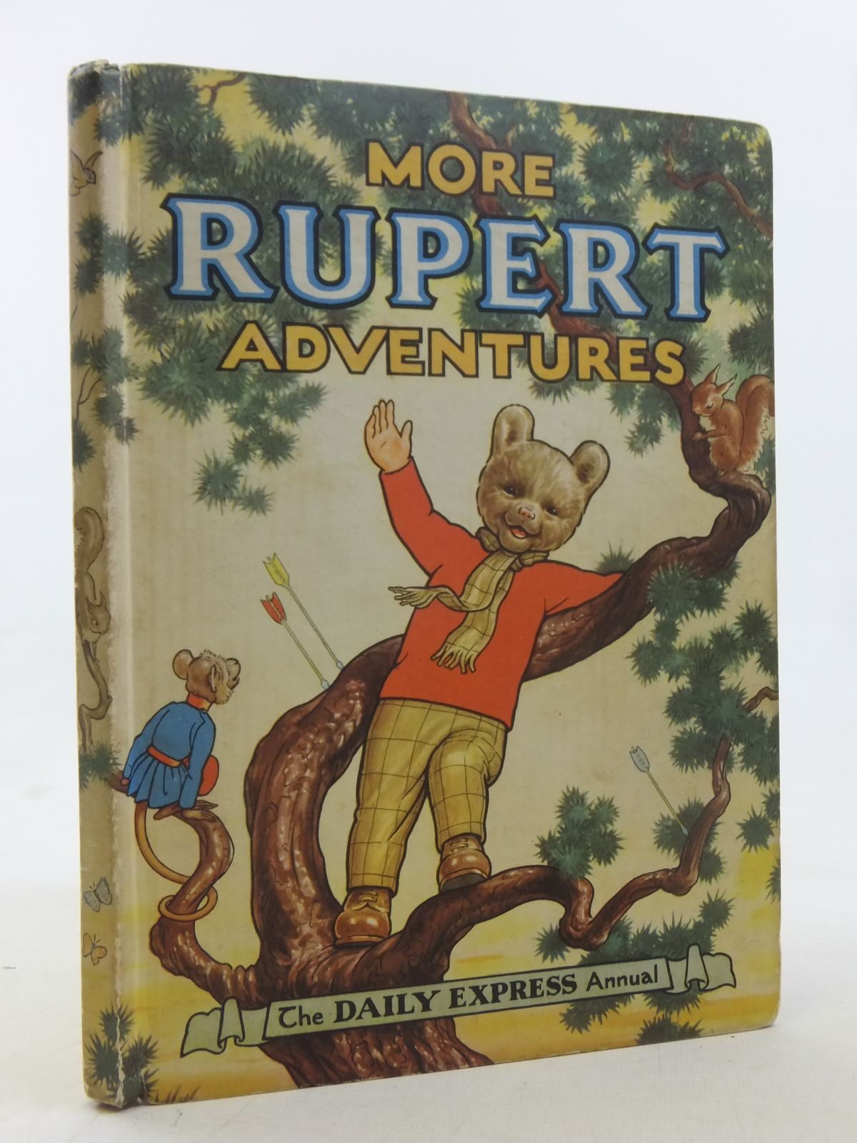 Photo of RUPERT ANNUAL 1952 - MORE RUPERT ADVENTURES written by Bestall, Alfred illustrated by Bestall, Alfred published by Daily Express (STOCK CODE: 1607265)  for sale by Stella & Rose's Books