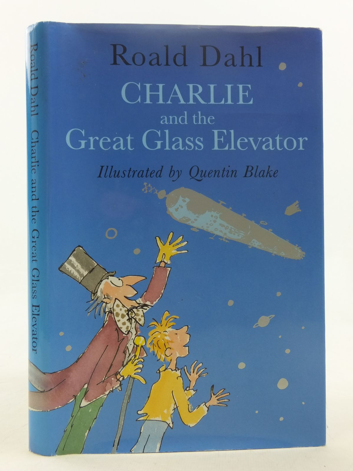 Photo of CHARLIE AND THE GREAT GLASS ELEVATOR written by Dahl, Roald illustrated by Blake, Quentin published by Viking (STOCK CODE: 1607281)  for sale by Stella & Rose's Books