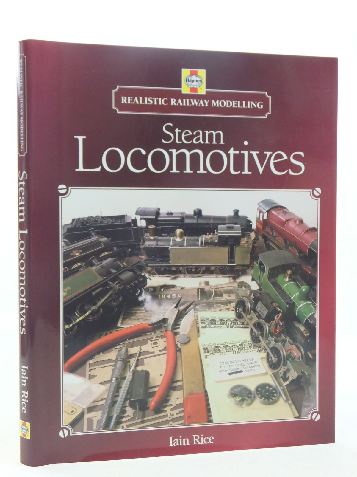 Photo of STEAM LOCOMOTIVES - REALISTIC RAILWAY MODELLING written by Rice, Iain published by Haynes (STOCK CODE: 1607293)  for sale by Stella & Rose's Books