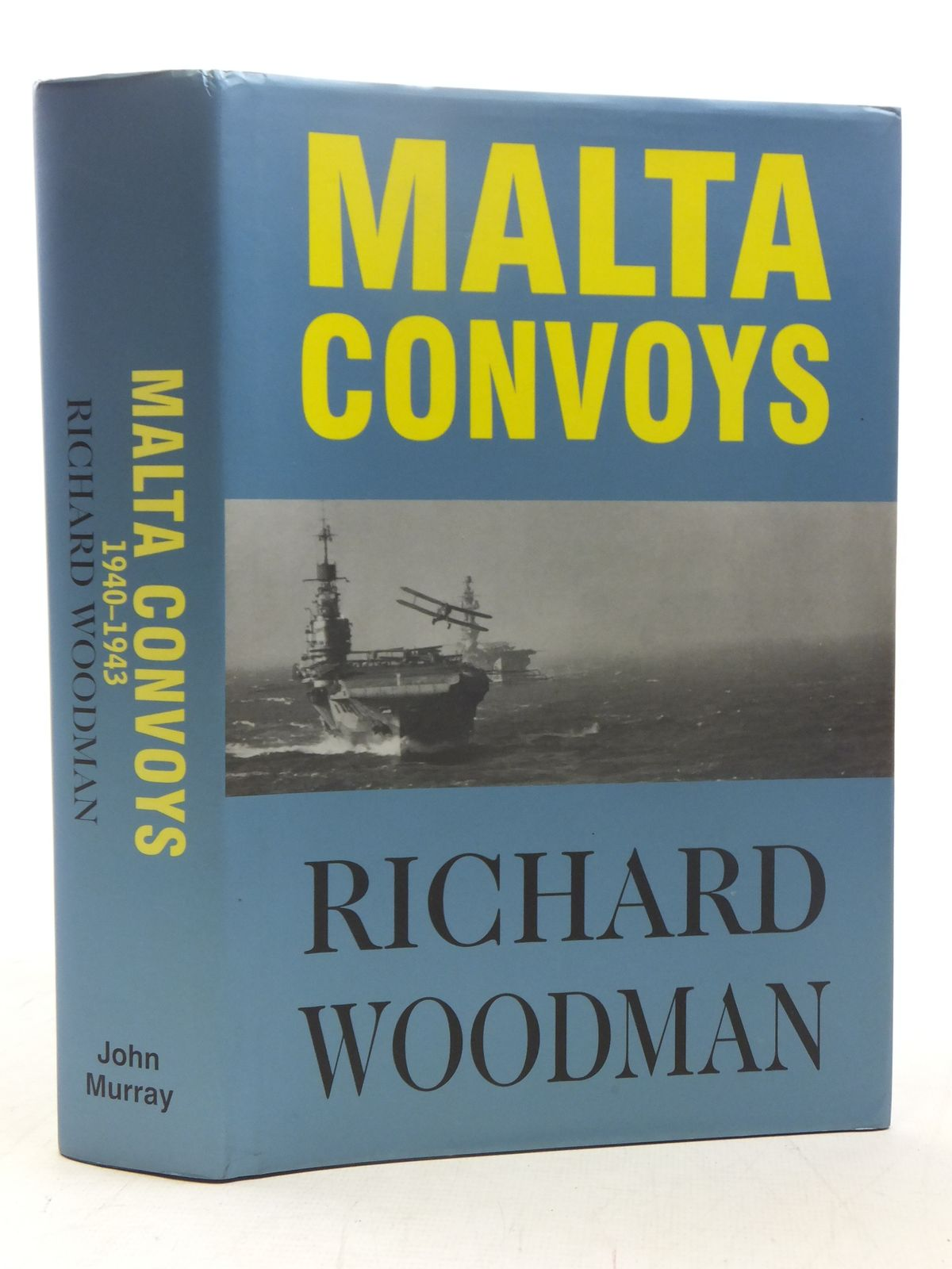 Photo of MALTA CONVOYS 1940-1943 written by Woodman, Richard published by John Murray (publishers) Ltd. (STOCK CODE: 1607395)  for sale by Stella & Rose's Books