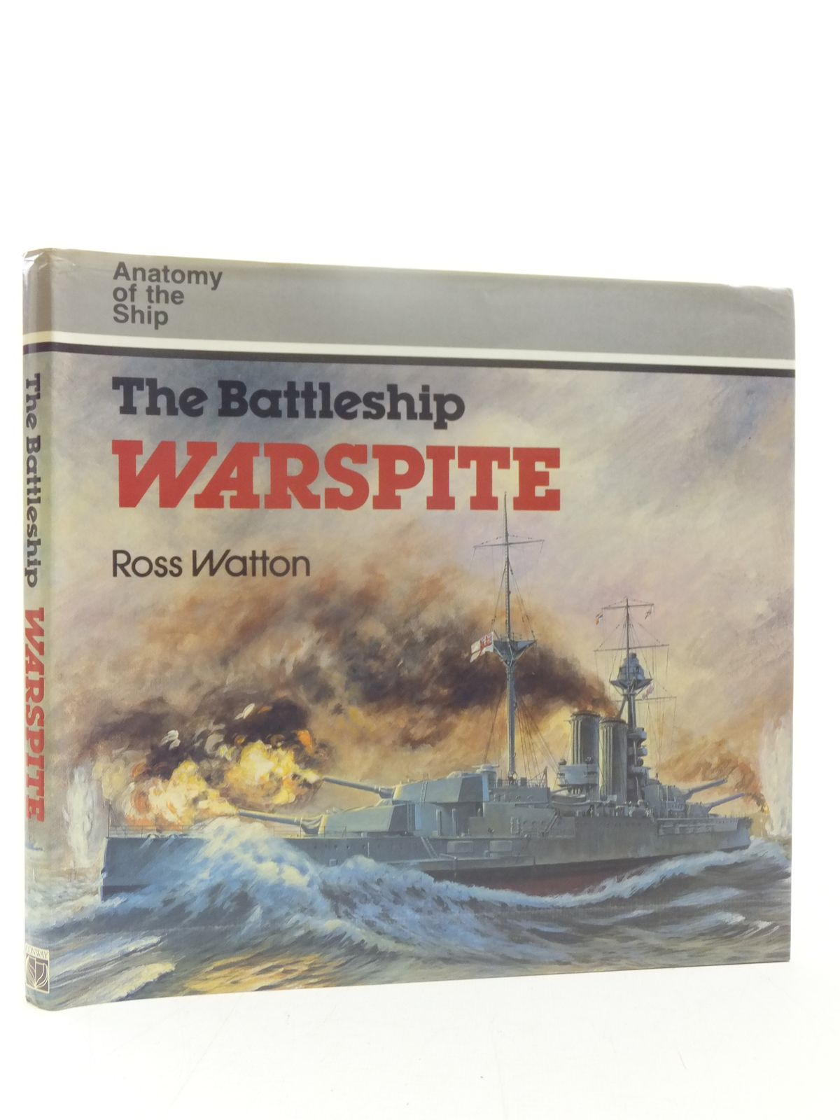 Photo of THE BATTLESHIP WARSPITE written by Watton, Ross published by Conway Maritime Press (STOCK CODE: 1607434)  for sale by Stella & Rose's Books