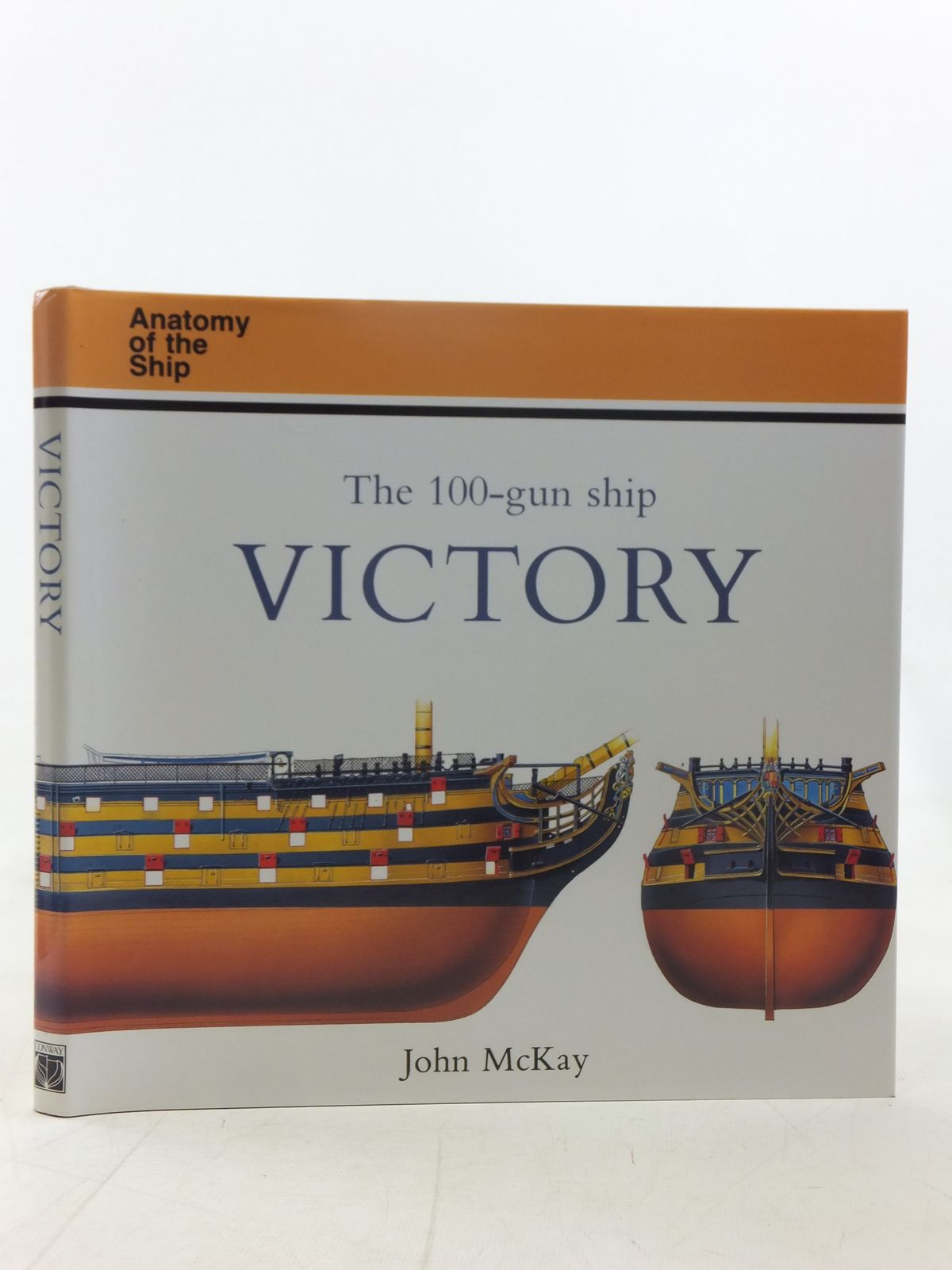 Photo of THE 100-GUN SHIP VICTORY written by McKay, John published by Conway Maritime Press (STOCK CODE: 1607472)  for sale by Stella & Rose's Books