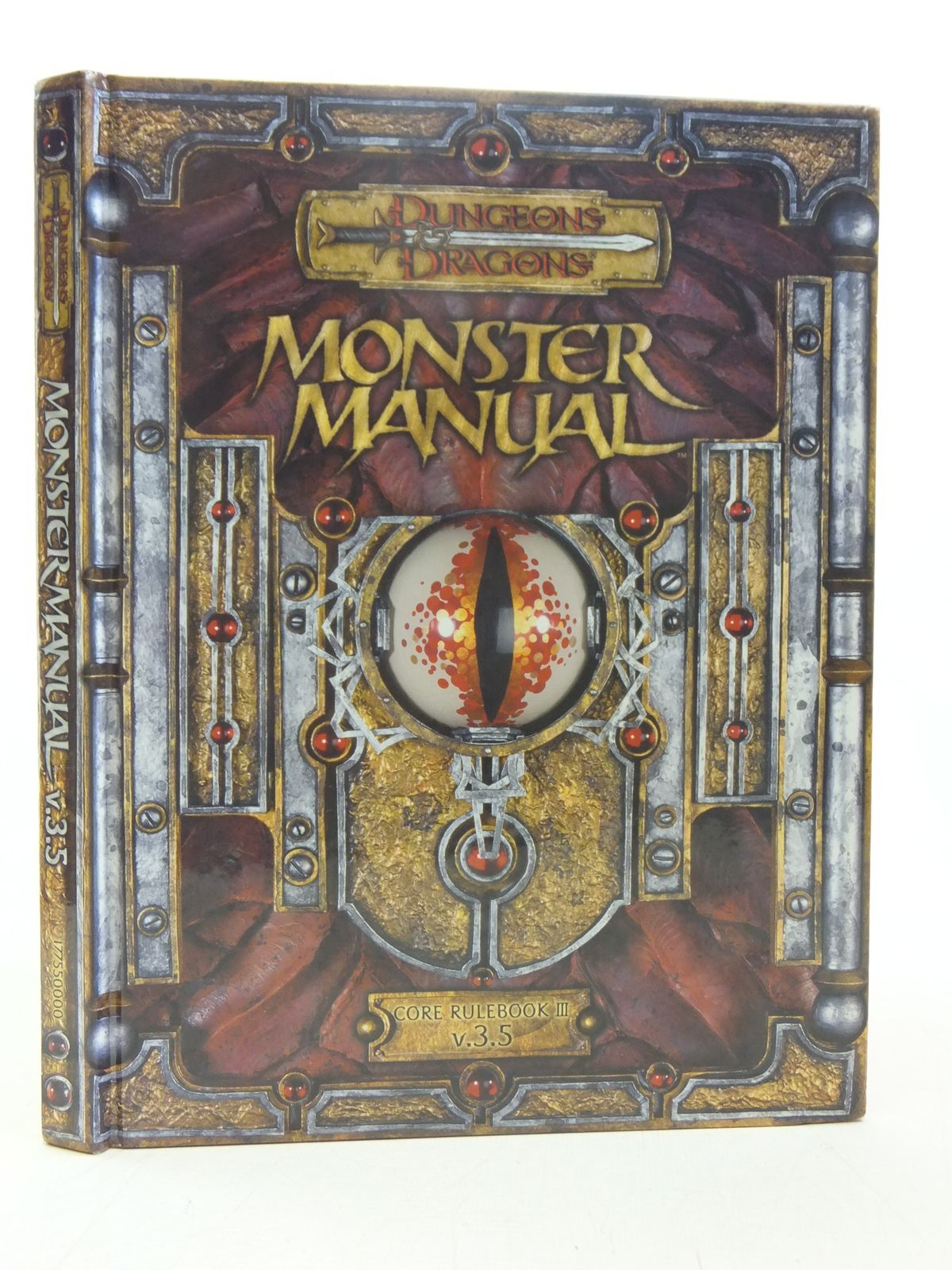 Photo of DUNGEONS & DRAGONS MONSTER MANUAL CORE RULEBOOK III V.3.5 published by Wizards Of The Coast (STOCK CODE: 1607489)  for sale by Stella & Rose's Books