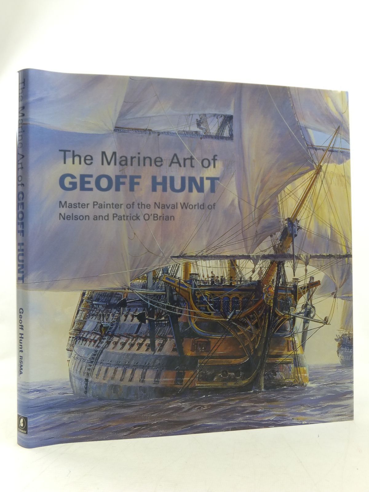 Photo of THE MARINE ART OF GEOFF HUNT written by Hunt, Geoff illustrated by Hunt, Geoff published by Conway Maritime Press (STOCK CODE: 1607497)  for sale by Stella & Rose's Books