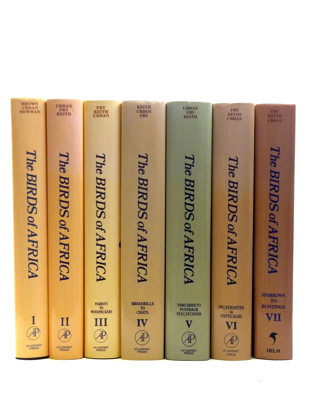 Photo of THE BIRDS OF AFRICA 7 VOLUMES