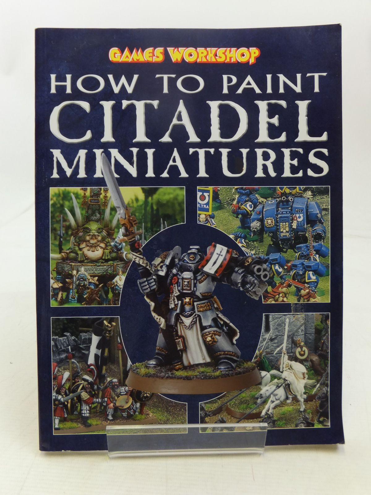 Photo of HOW TO PAINT CITADEL MINIATURES written by Priestley, Rick published by Games Workshop (STOCK CODE: 1607527)  for sale by Stella & Rose's Books