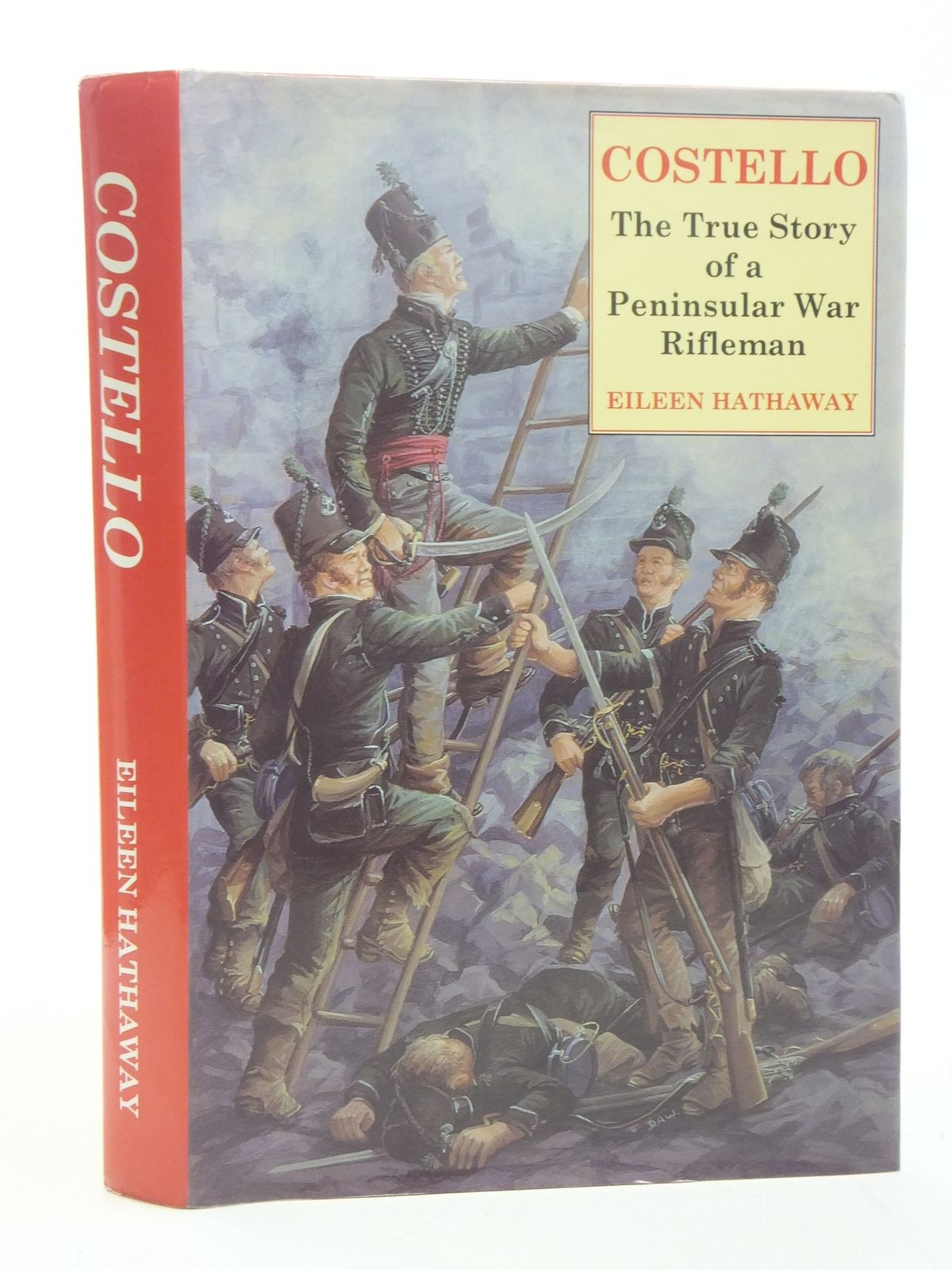 Photo of COSTELLO THE TRUE STORY OF A PENINSULAR WAR RIFLEMAN written by Hathaway, Eileen published by Shinglepicker (STOCK CODE: 1607533)  for sale by Stella & Rose's Books
