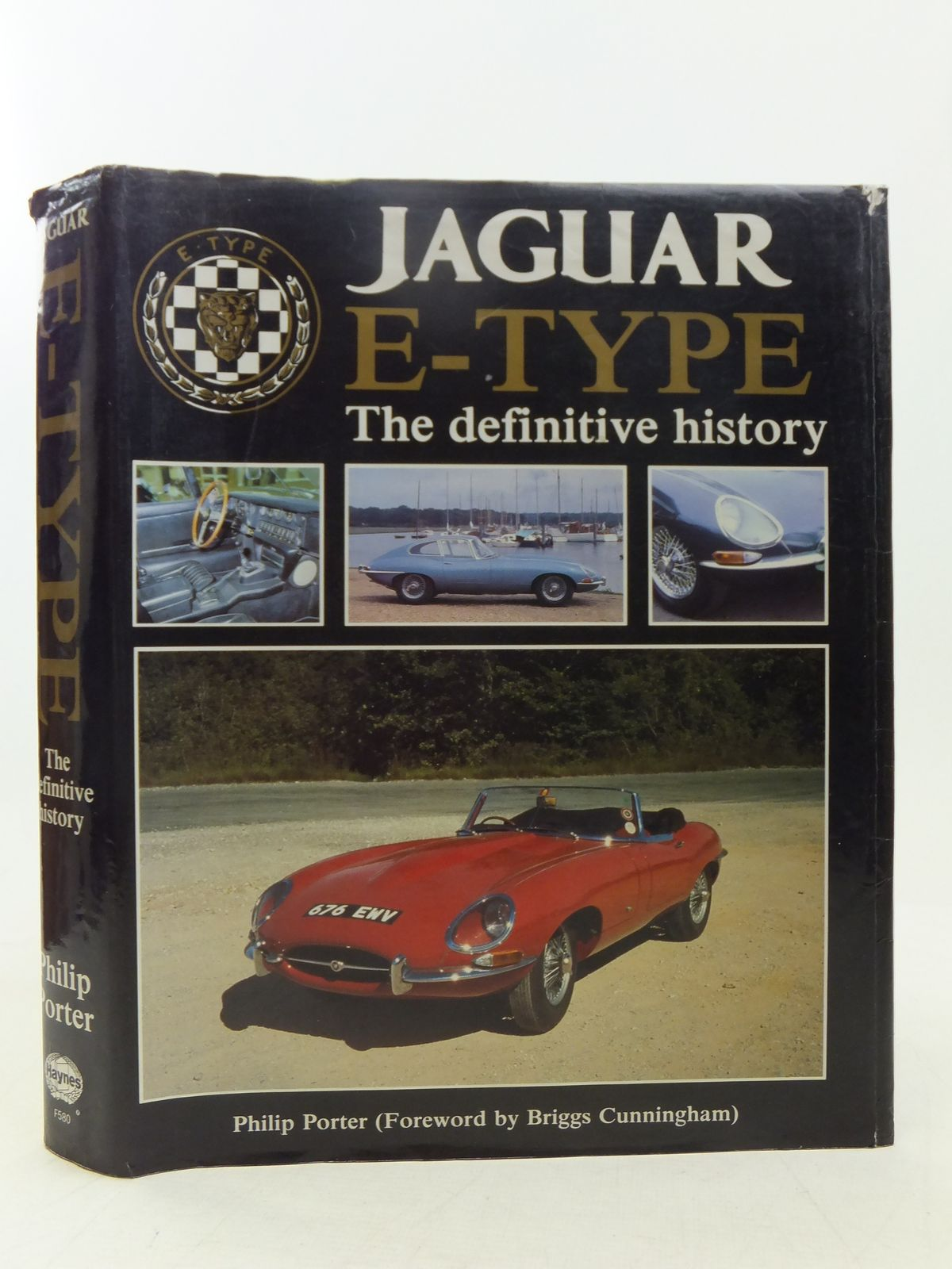 Photo of JAGUAR E-TYPE THE DEFINITIVE HISTORY written by Porter, Philip published by Haynes (STOCK CODE: 1607580)  for sale by Stella & Rose's Books