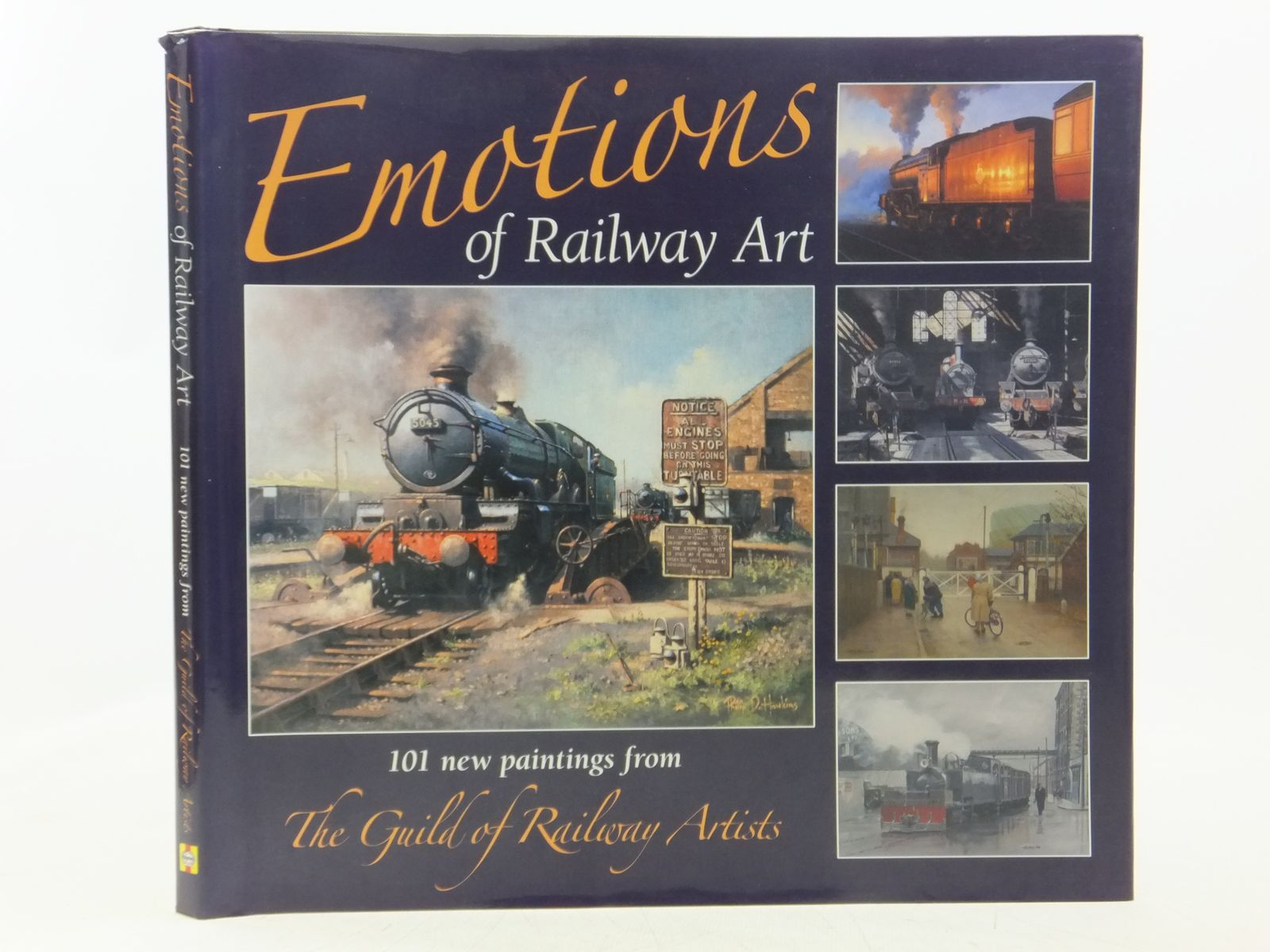 Photo of EMOTIONS OF RAILWAY ART published by Haynes Publishing (STOCK CODE: 1607620)  for sale by Stella & Rose's Books