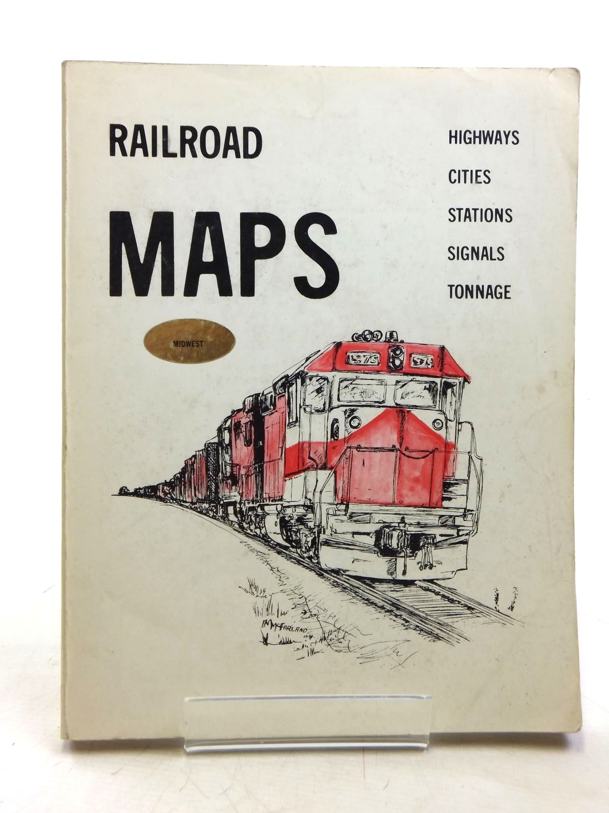 Photo of RAILROAD MAPS: THE MIDWEST published by Mac Publishing Inc. (STOCK CODE: 1607626)  for sale by Stella & Rose's Books