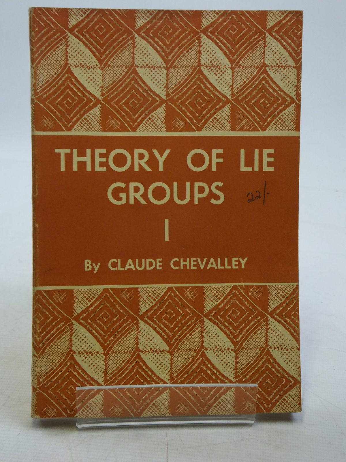 CHEVALLEY THEORY OF LIE GROUPS PDF DOWNLOAD