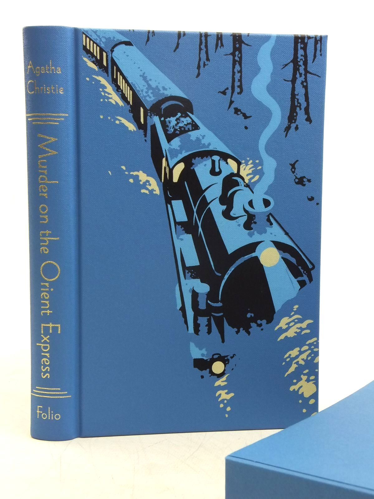 Photo of MURDER ON THE ORIENT EXPRESS written by Christie, Agatha illustrated by Davidson, Andrew published by Folio Society (STOCK CODE: 1607668)  for sale by Stella & Rose's Books