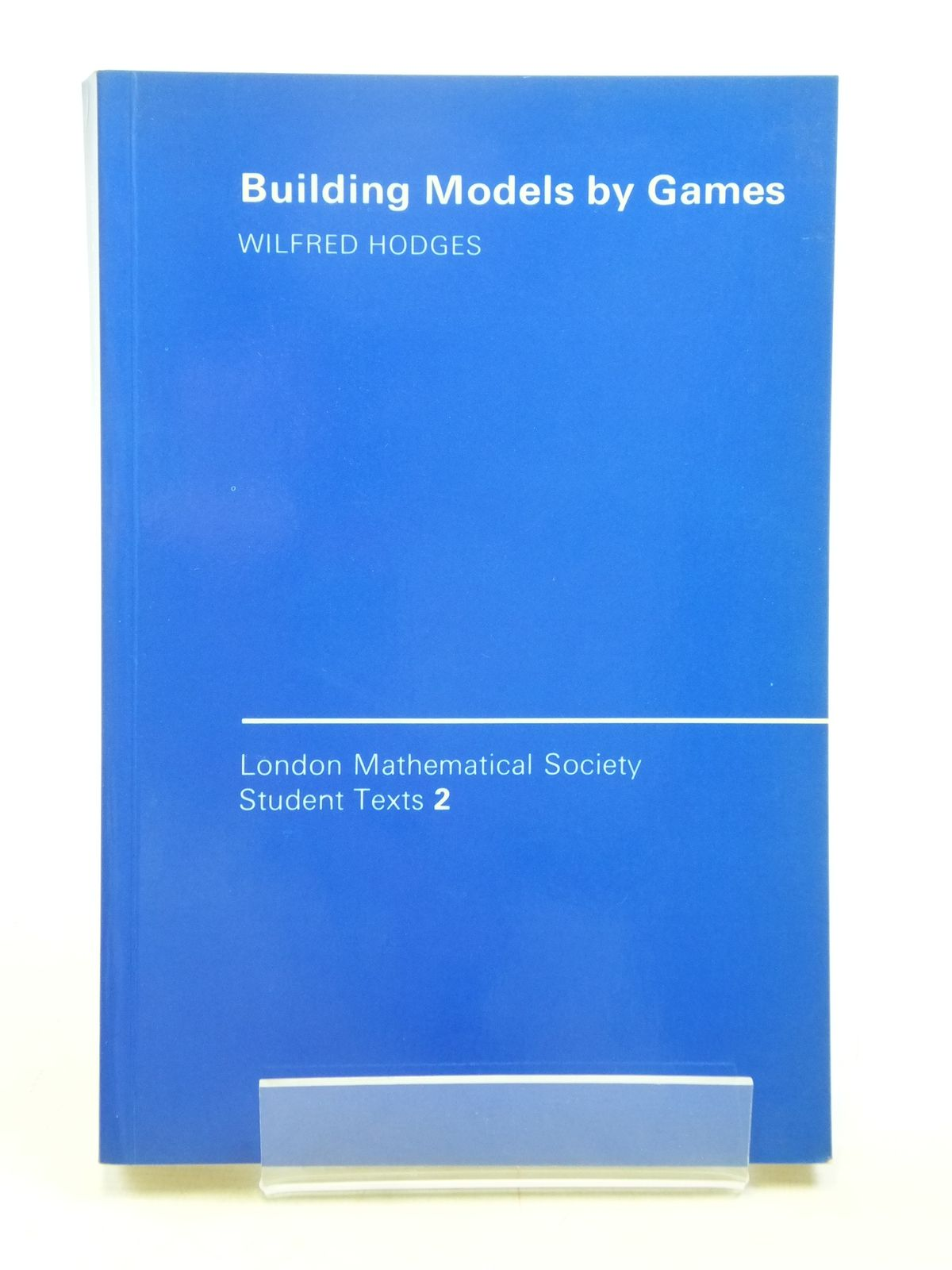 Photo of BUILDING MODELS BY GAMES written by Hodges, Wilfrid published by Cambridge University Press (STOCK CODE: 1607699)  for sale by Stella & Rose's Books