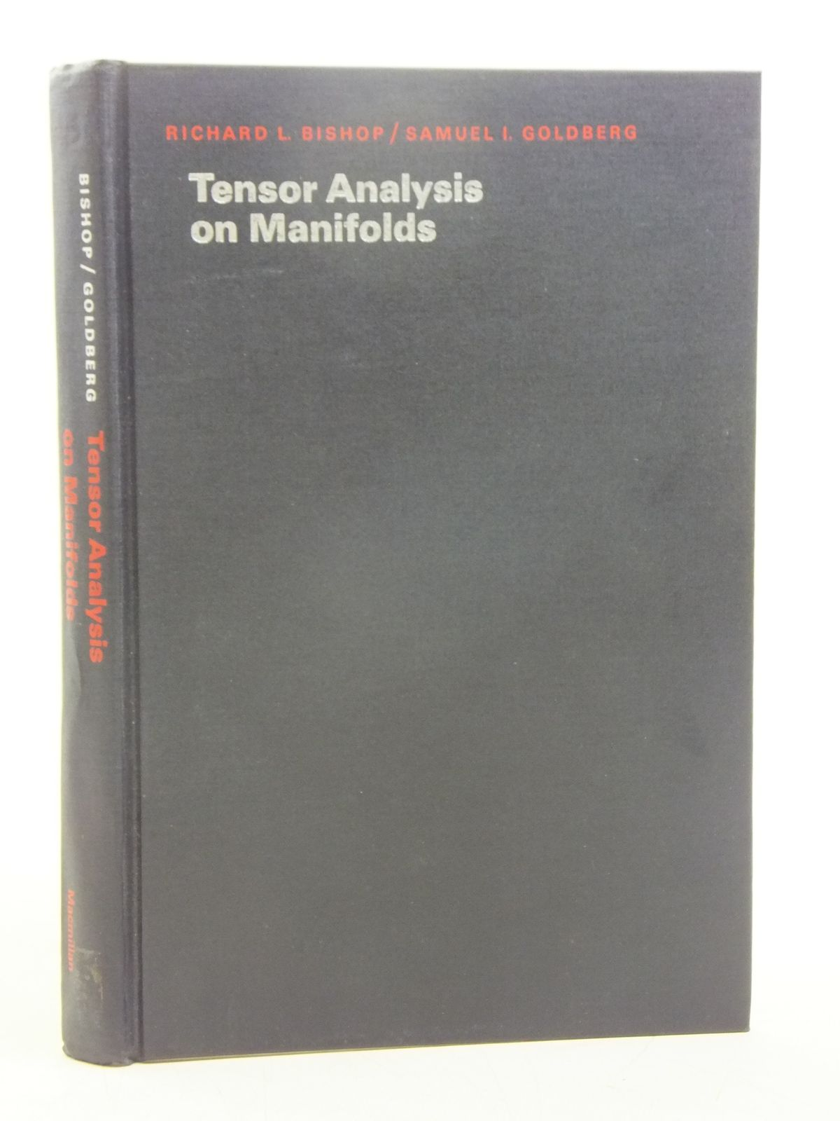 Photo of TENSOR ANALYSIS ON MANIFOLDS written by Bishop, Richard L.<br />Goldberg, Samuel I. published by The Macmillan Company (STOCK CODE: 1607701)  for sale by Stella & Rose's Books