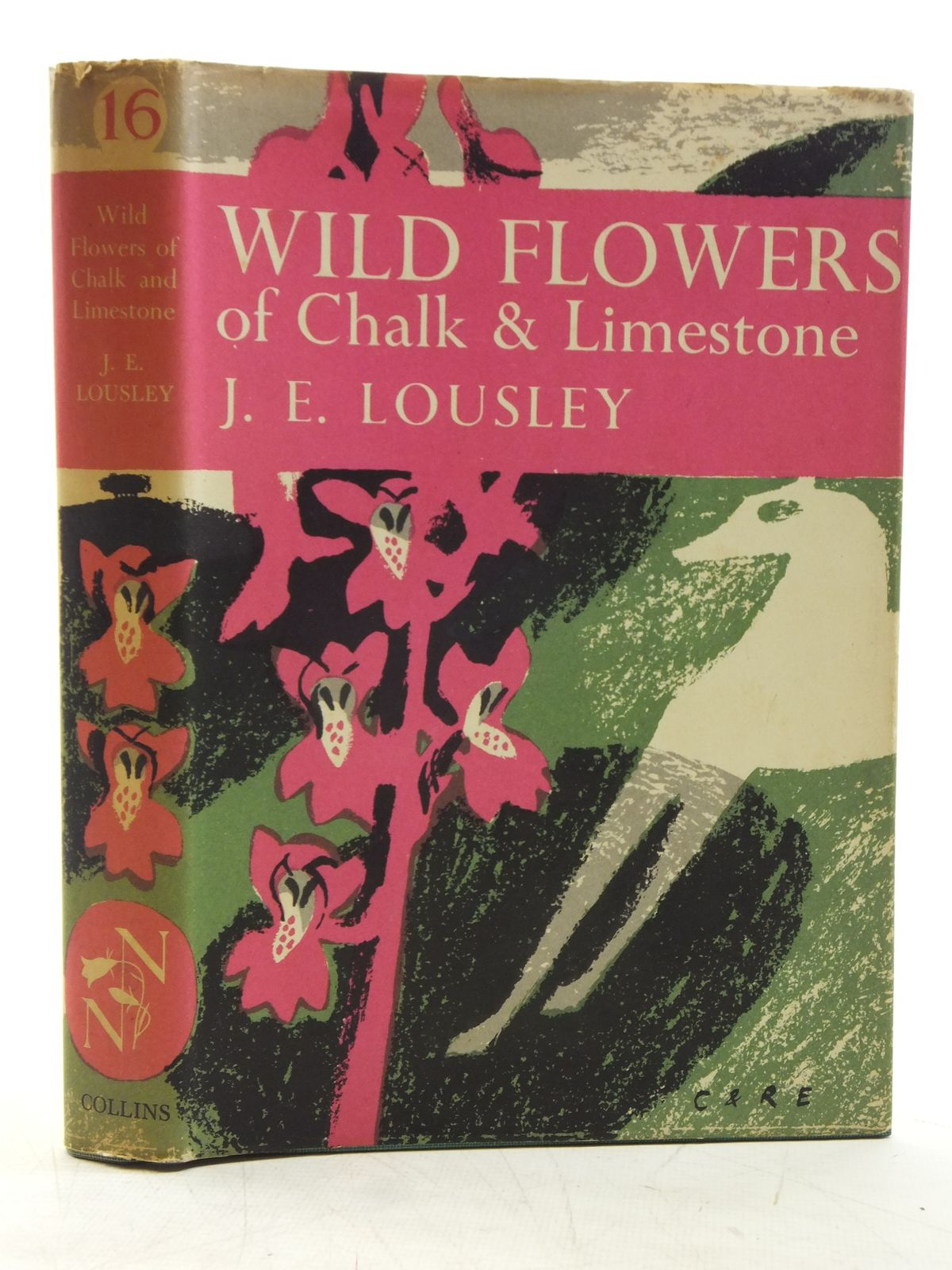 Photo of WILD FLOWERS OF CHALK & LIMESTONE (NN 16) written by Lousley, J.E. published by Collins (STOCK CODE: 1607746)  for sale by Stella & Rose's Books