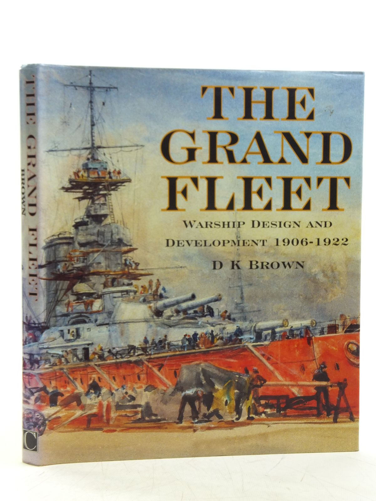 Photo of THE GRAND FLEET written by Brown, D.K. published by Chatham Publishing (STOCK CODE: 1607854)  for sale by Stella & Rose's Books
