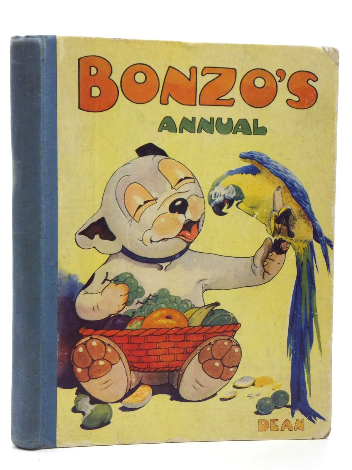 Photo of BONZO'S ANNUAL 1950 written by Bradley, Christine E. illustrated by Studdy, G.E. published by Dean & Son Ltd. (STOCK CODE: 1607924)  for sale by Stella & Rose's Books