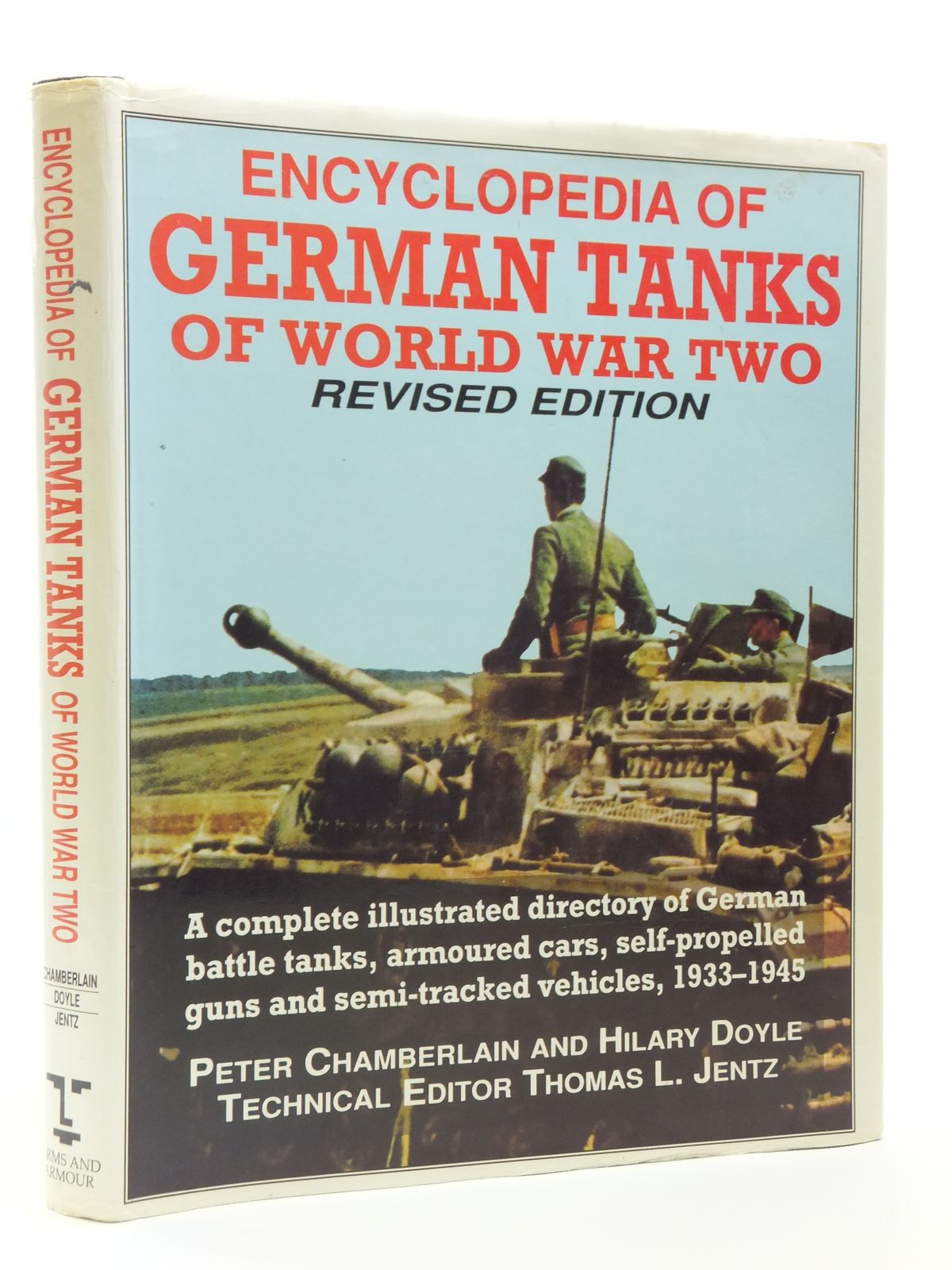Photo of ENCYCLOPEDIA OF GERMAN TANKS OF WORLD WAR TWO written by Chamberlain, Peter<br />Doyle, Hilary<br />Jentz, Thomas published by Arms & Armour Press (STOCK CODE: 1607928)  for sale by Stella & Rose's Books