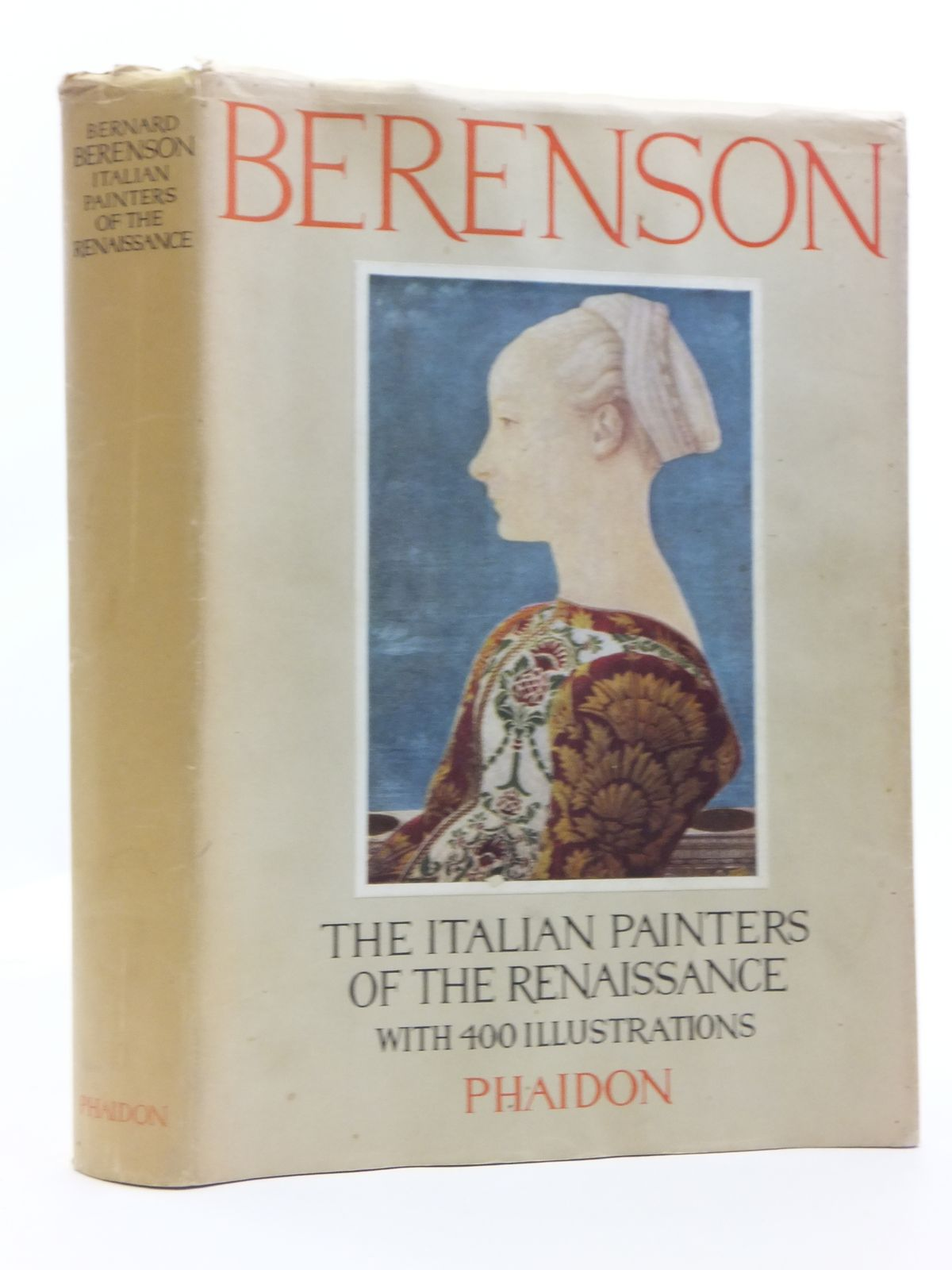 Photo of THE ITALIAN PAINTERS OF THE RENAISSANCE written by Berenson, Bernard published by Phaidon Press (STOCK CODE: 1607977)  for sale by Stella & Rose's Books