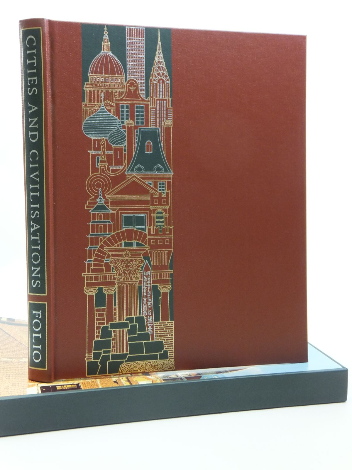 Photo of CITIES AND CIVILISATIONS written by Hibbert, Christopher published by Folio Society (STOCK CODE: 1607993)  for sale by Stella & Rose's Books
