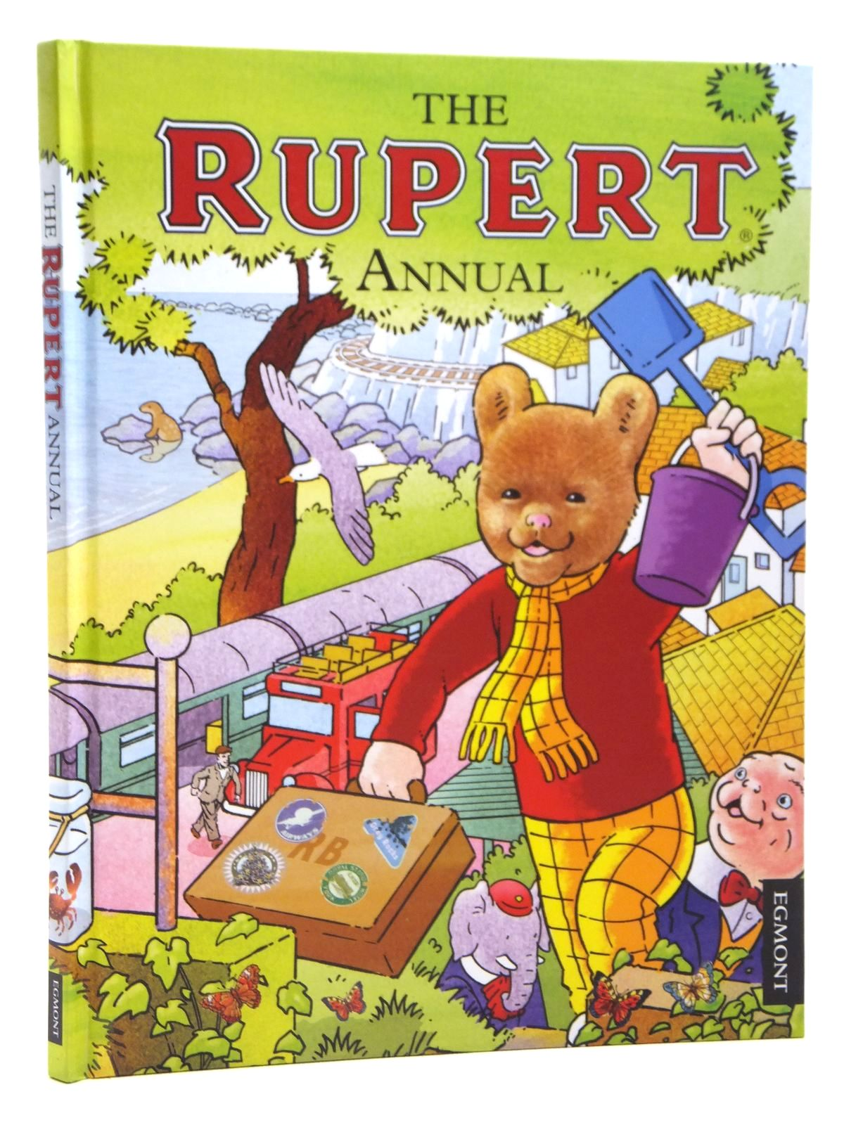 Photo of RUPERT ANNUAL 2012 written by Harwood, Beth<br />Trotter, Stuart illustrated by Trotter, Stuart<br />Bestall, Alfred published by Egmont Uk Limited (STOCK CODE: 1608040)  for sale by Stella & Rose's Books