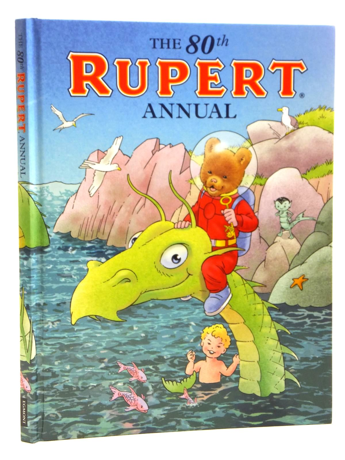 Photo of RUPERT ANNUAL 2015 written by Milton, Stephanie illustrated by Trotter, Stuart<br />Harrold, John<br />Bestall, Alfred published by Egmont Uk Limited (STOCK CODE: 1608042)  for sale by Stella & Rose's Books