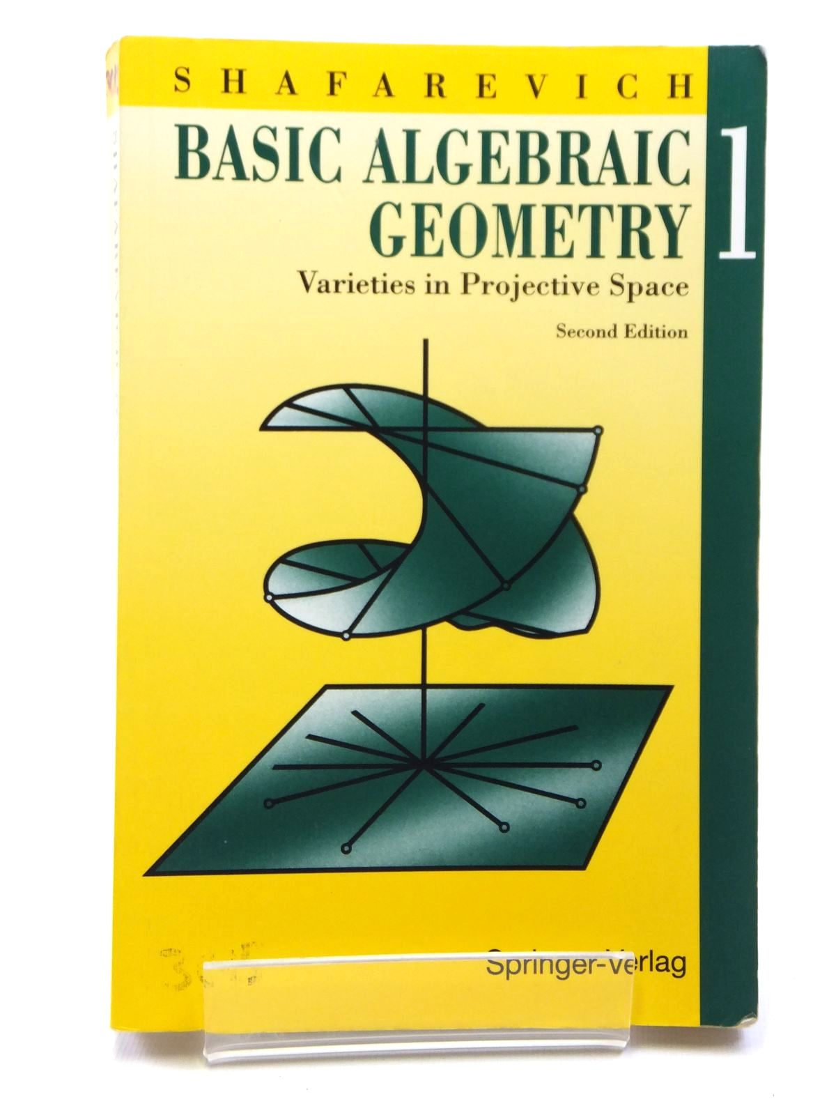 Photo of BASIC ALGEBRAIC GEOMETRY 1 written by Shafarevich, I.R. published by Springer-Verlag (STOCK CODE: 1608062)  for sale by Stella & Rose's Books