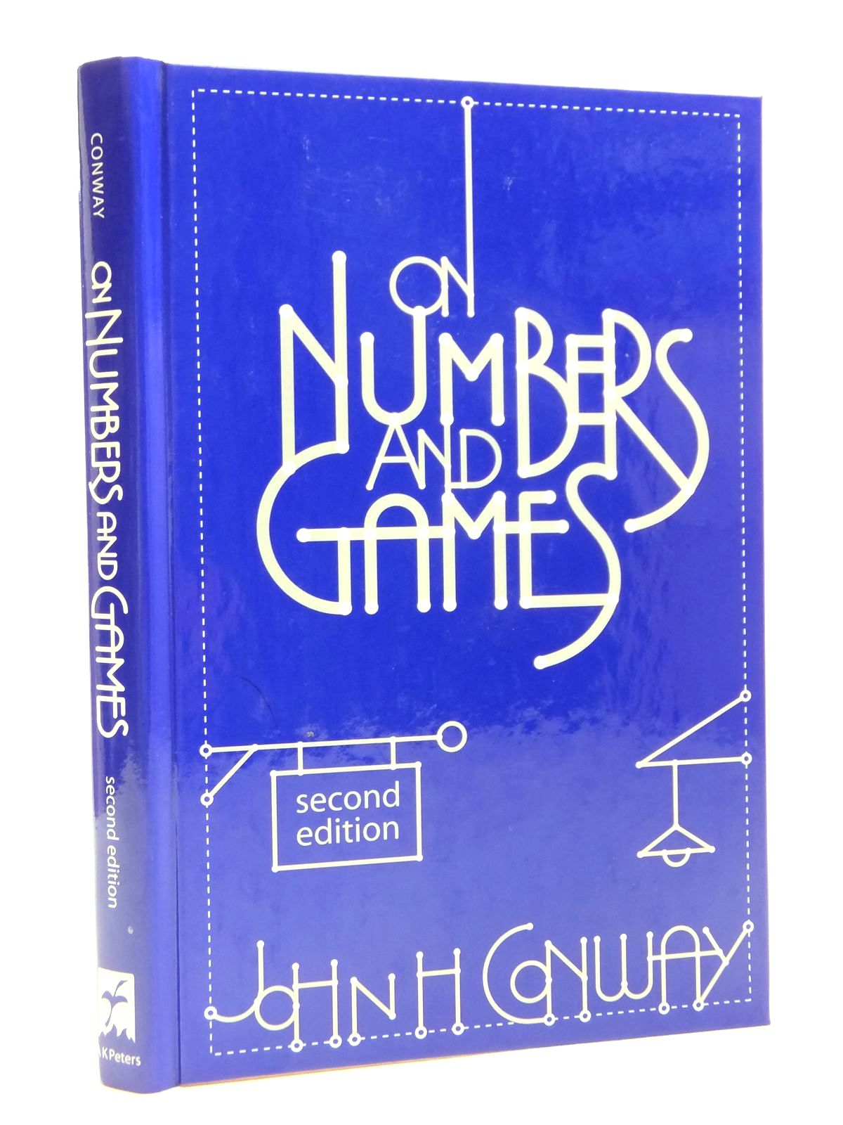 Photo of ON NUMBERS AND GAMES written by Conway, J.H. published by A.K. Peters Ltd (STOCK CODE: 1608079)  for sale by Stella & Rose's Books