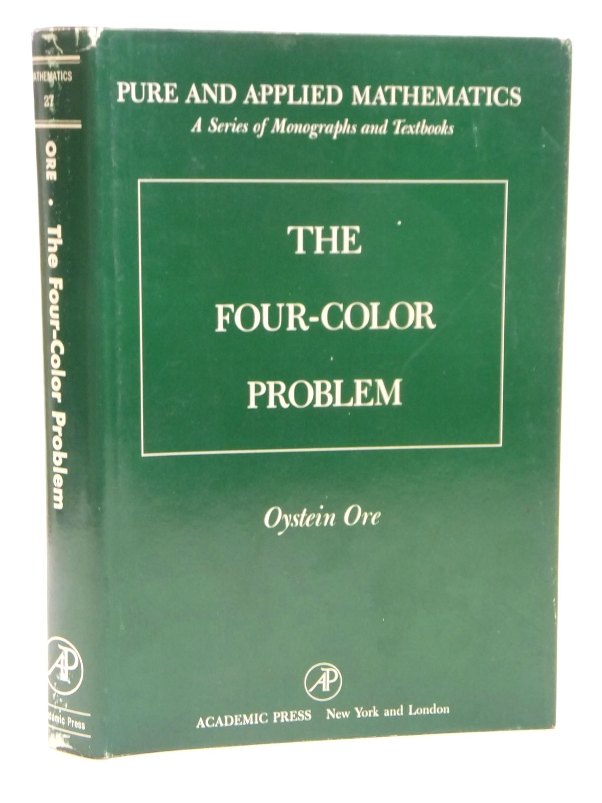 Photo of THE FOUR-COLOR PROBLEM written by Ore, Oystein published by Academic Press (STOCK CODE: 1608080)  for sale by Stella & Rose's Books