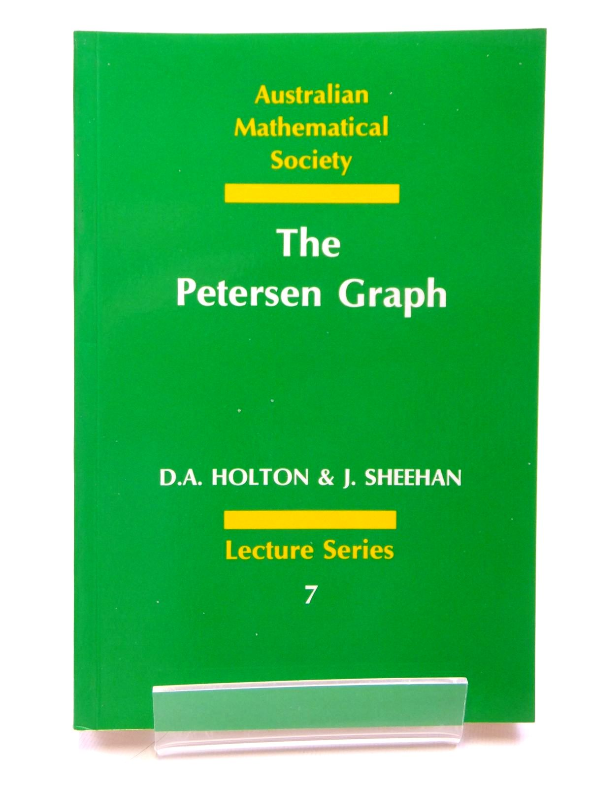 Photo of THE PETERSEN GRAPH written by Holton, D.A.<br />Sheehan, J. published by Cambridge University Press (STOCK CODE: 1608110)  for sale by Stella & Rose's Books