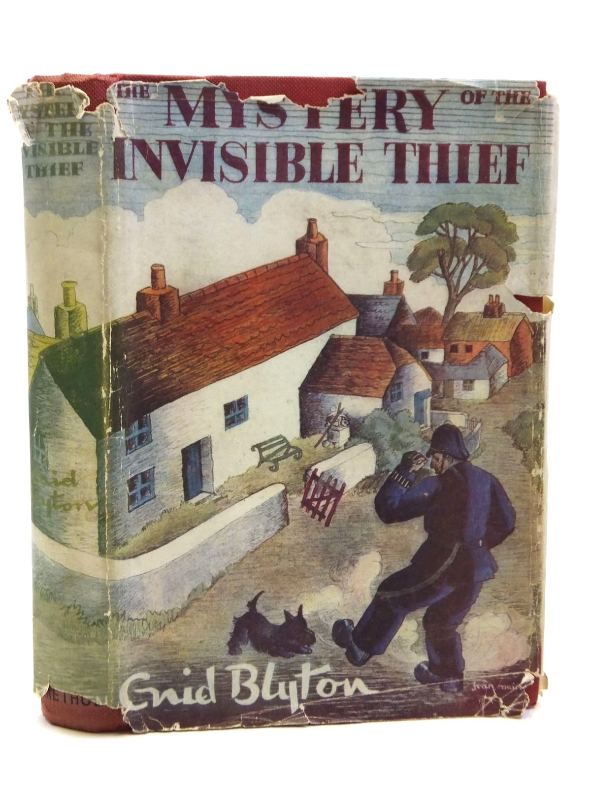 Photo of THE MYSTERY OF THE INVISIBLE THIEF written by Blyton, Enid illustrated by Evans, Treyer published by Methuen & Co. Ltd. (STOCK CODE: 1608117)  for sale by Stella & Rose's Books