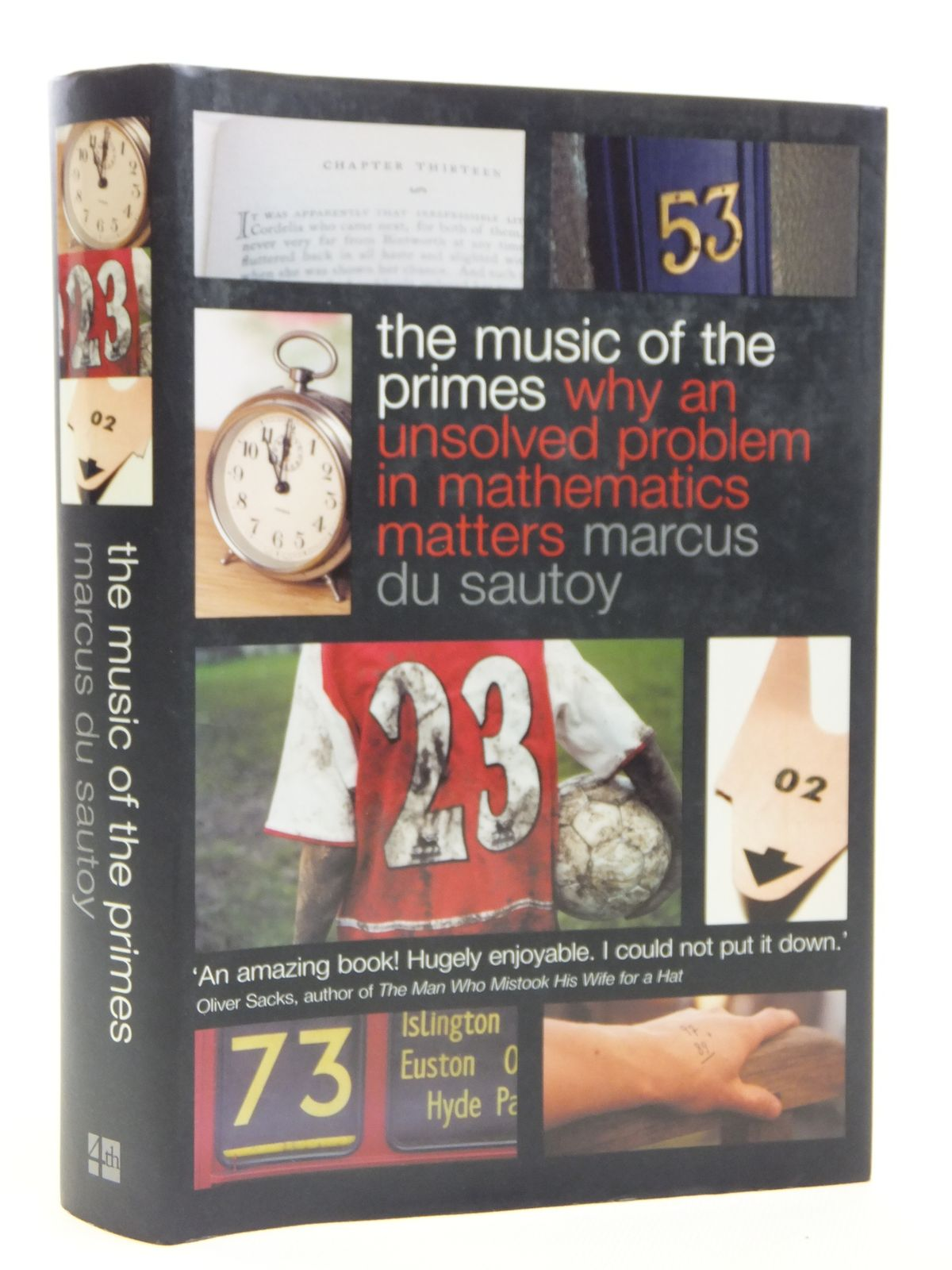 Photo of THE MUSIC OF THE PRIMES written by Du Sautoy, Marcus published by Fourth Estate (STOCK CODE: 1608123)  for sale by Stella & Rose's Books