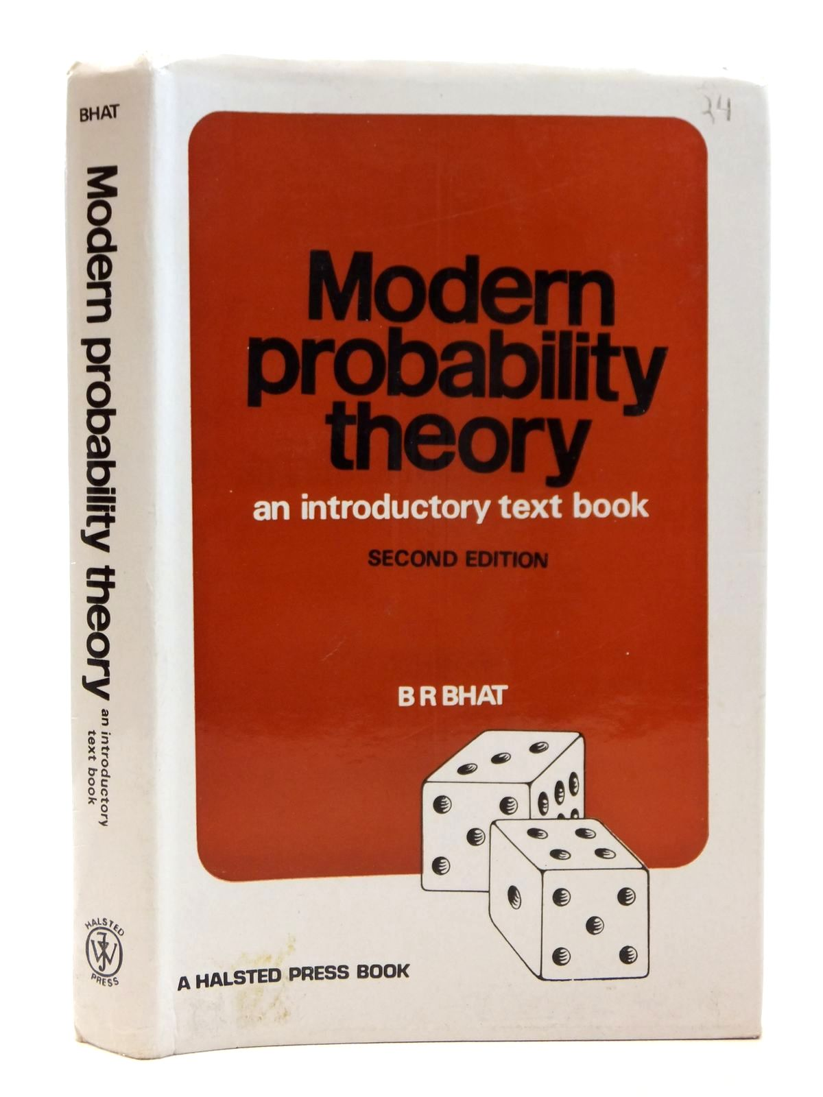 Photo of MODERN PROBABILITY THEORY written by Bhat, B. Ramdas published by John Wiley & Sons (STOCK CODE: 1608202)  for sale by Stella & Rose's Books