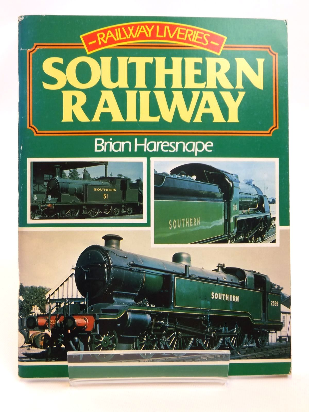 Photo of RAILWAY LIVERIES SOUTHERN RAILWAY written by Haresnape, Brian published by Ian Allan (STOCK CODE: 1608256)  for sale by Stella & Rose's Books