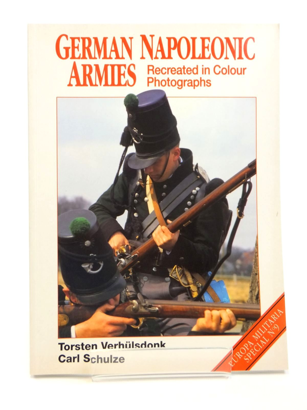 Photo of GERMAN NAPOLEONIC ARMIES RECREATED IN COLOUR PHOTOGRAPHS written by Verhulsdonk, Torsten<br />Schulze, Carl published by Windrow & Greene (STOCK CODE: 1608258)  for sale by Stella & Rose's Books